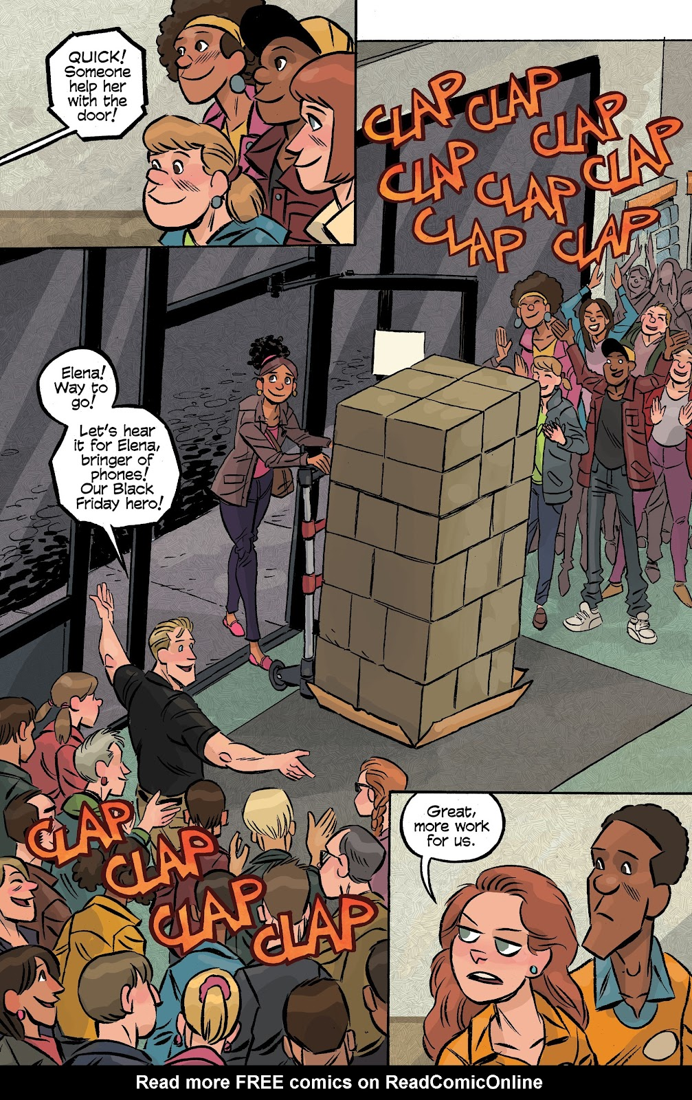 Read online Cellies comic -  Issue #6 - 23