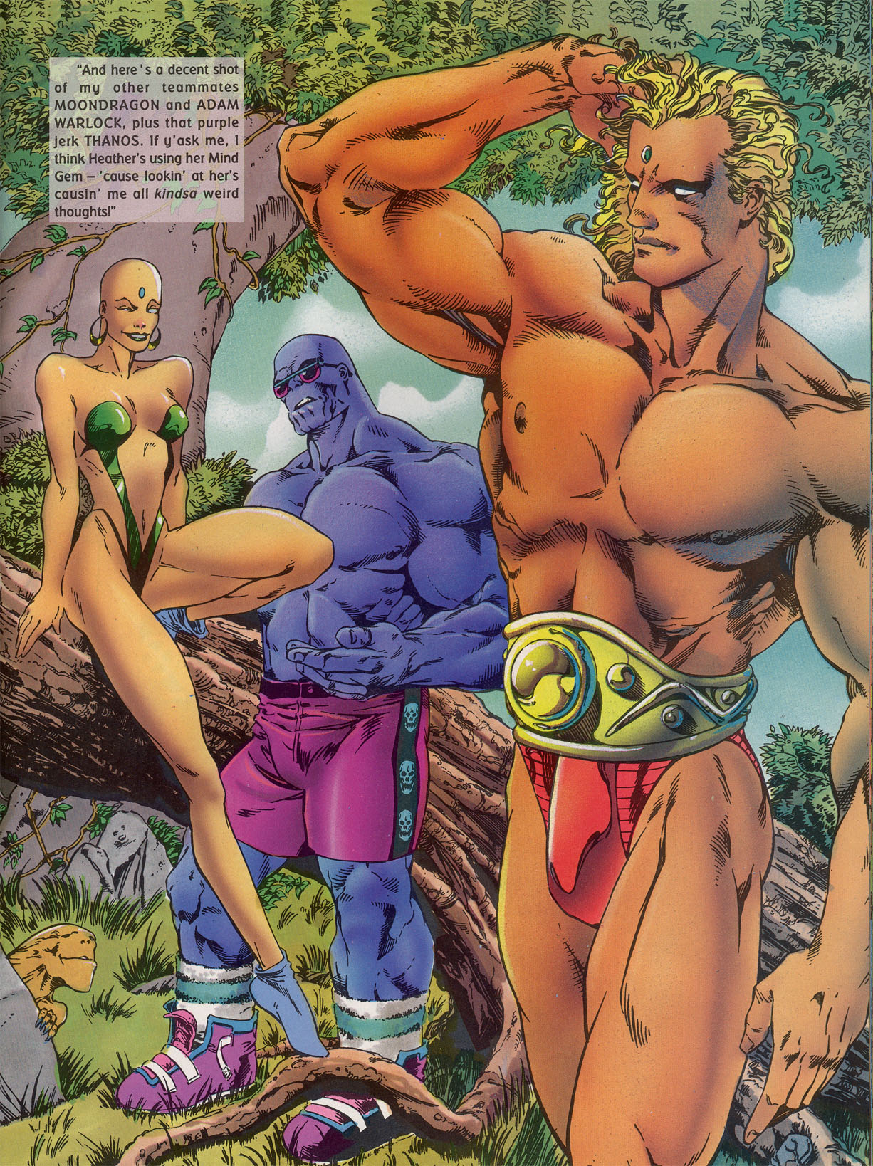 Read online Marvel Swimsuit Special comic -  Issue #2 - 21