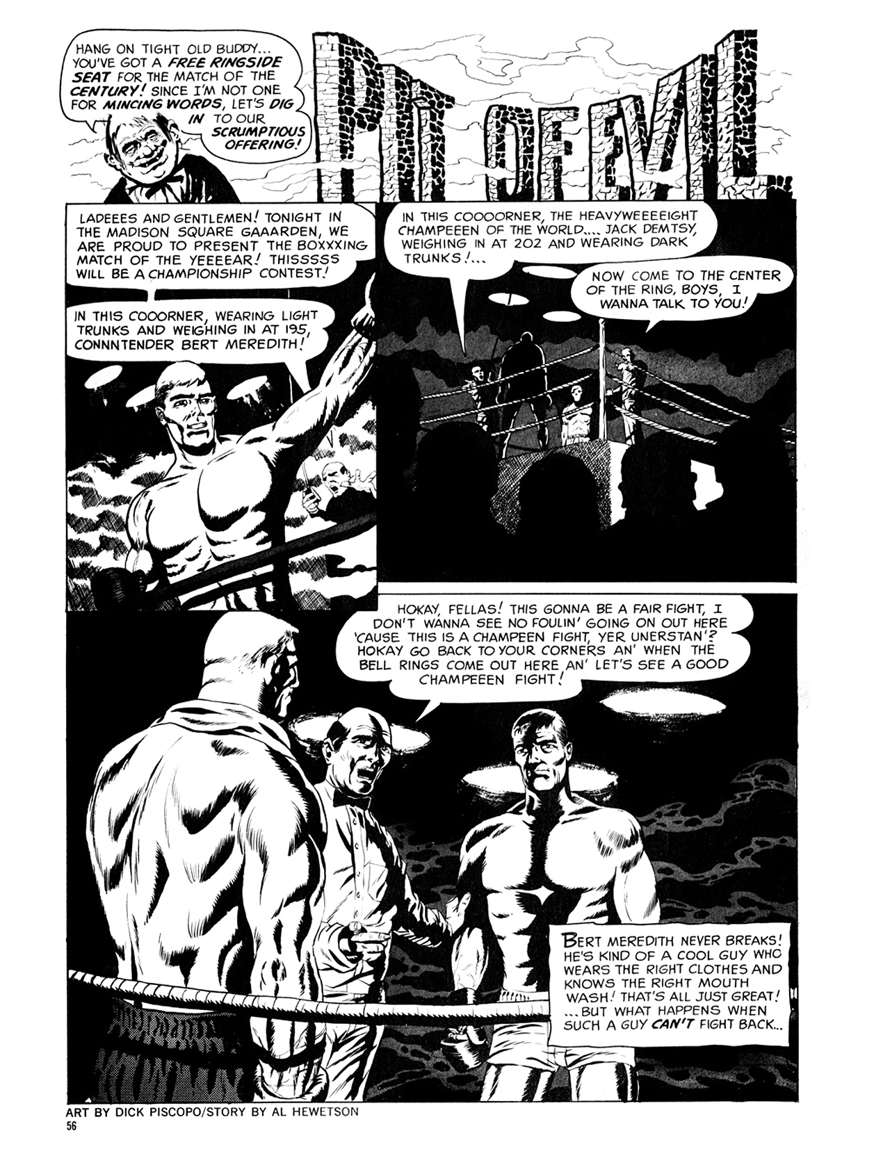 Read online Eerie Archives comic -  Issue # TPB 6 - 57
