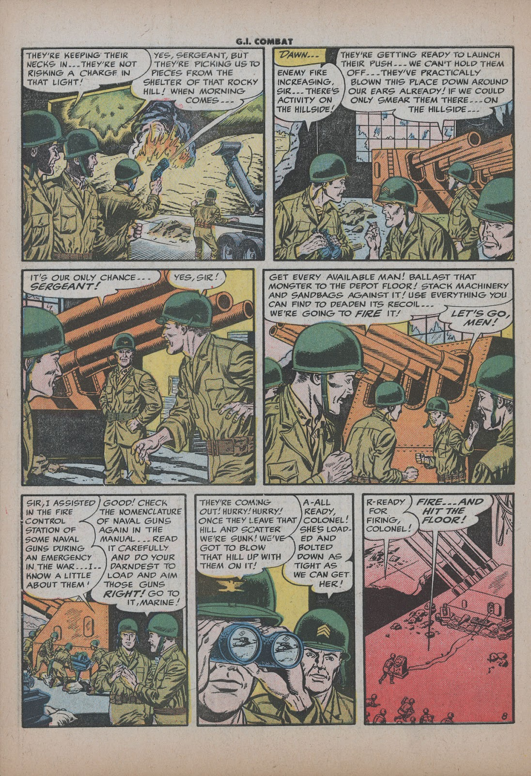 G.I. Combat (1952) issue 26 - Page 10