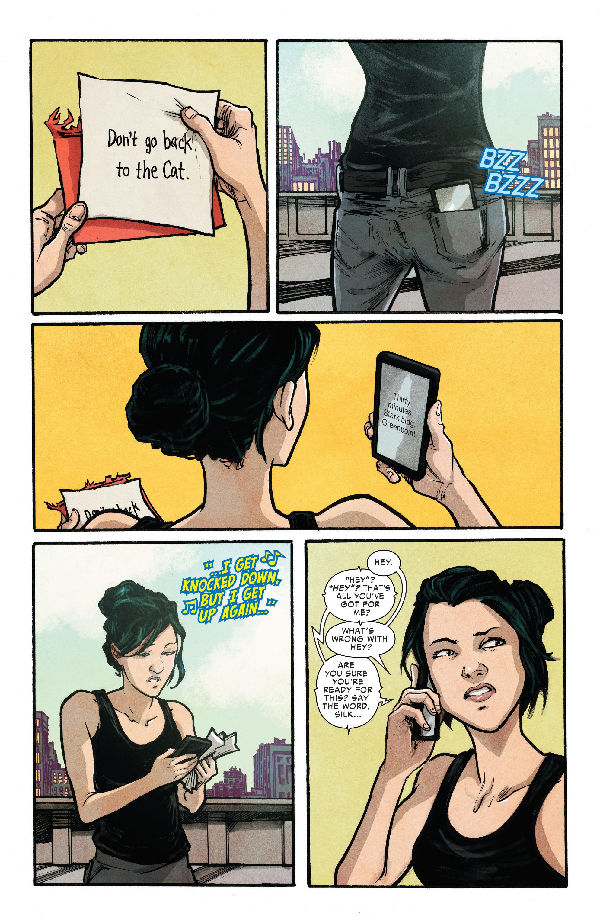 Read online Silk (2016) comic -  Issue #10 - 5