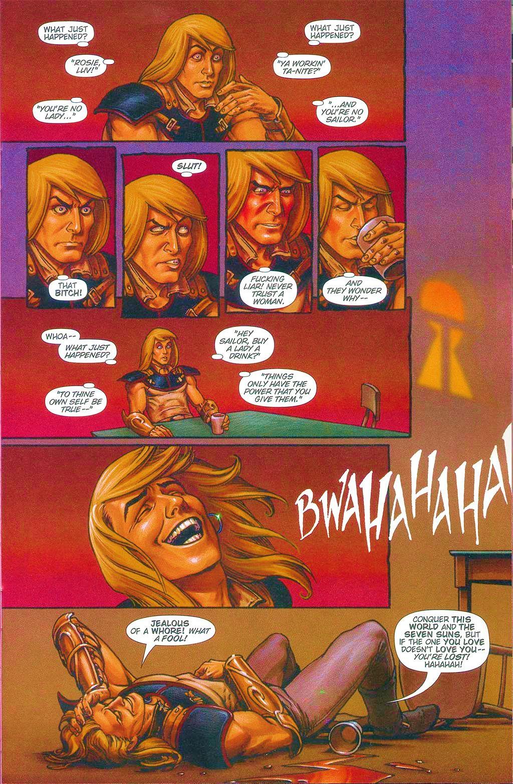 Read online Dawn: Three Tiers comic -  Issue #6 - 9