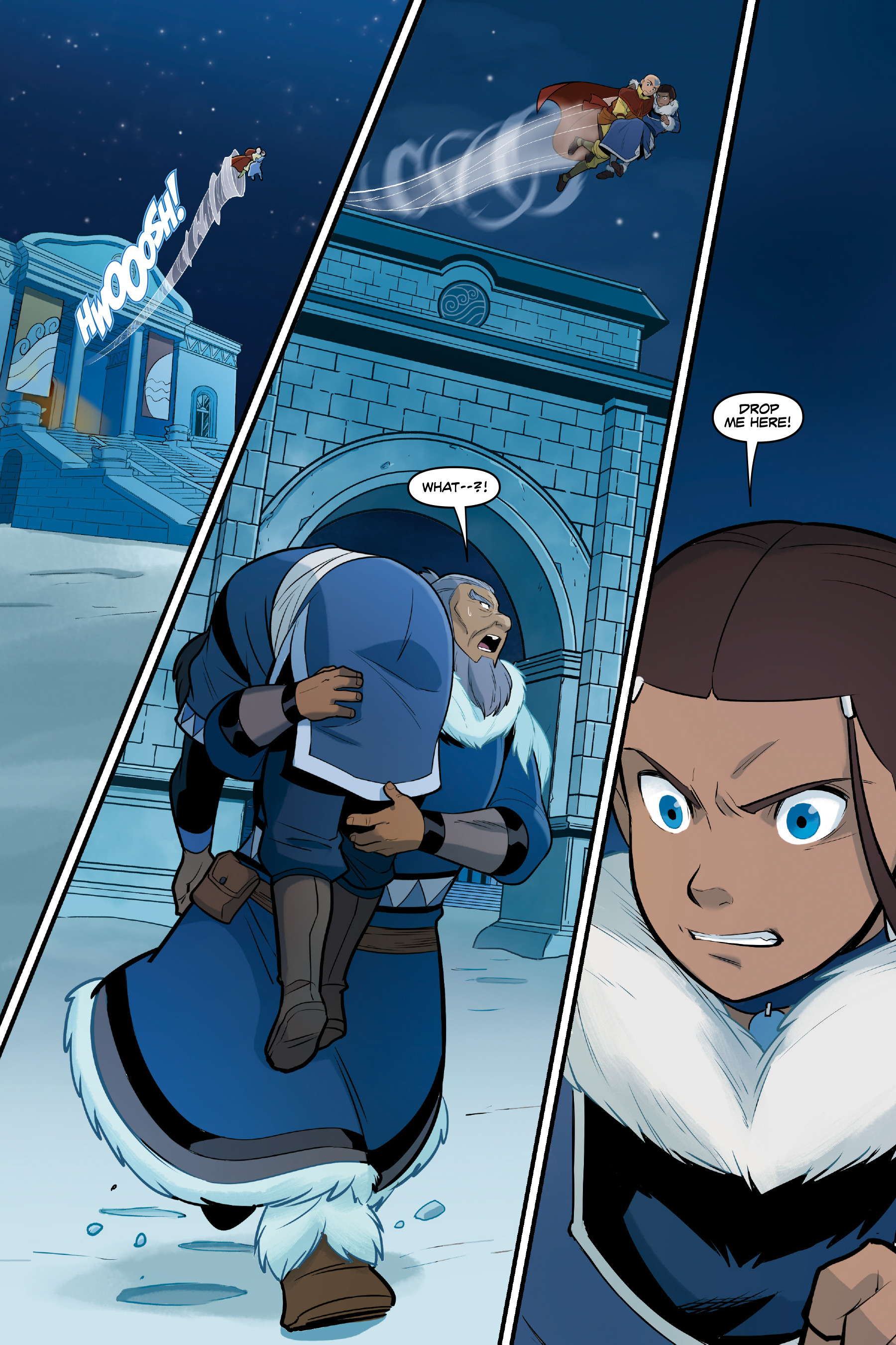 Read online Nickelodeon Avatar: The Last Airbender - North and South comic -  Issue #3 - 36