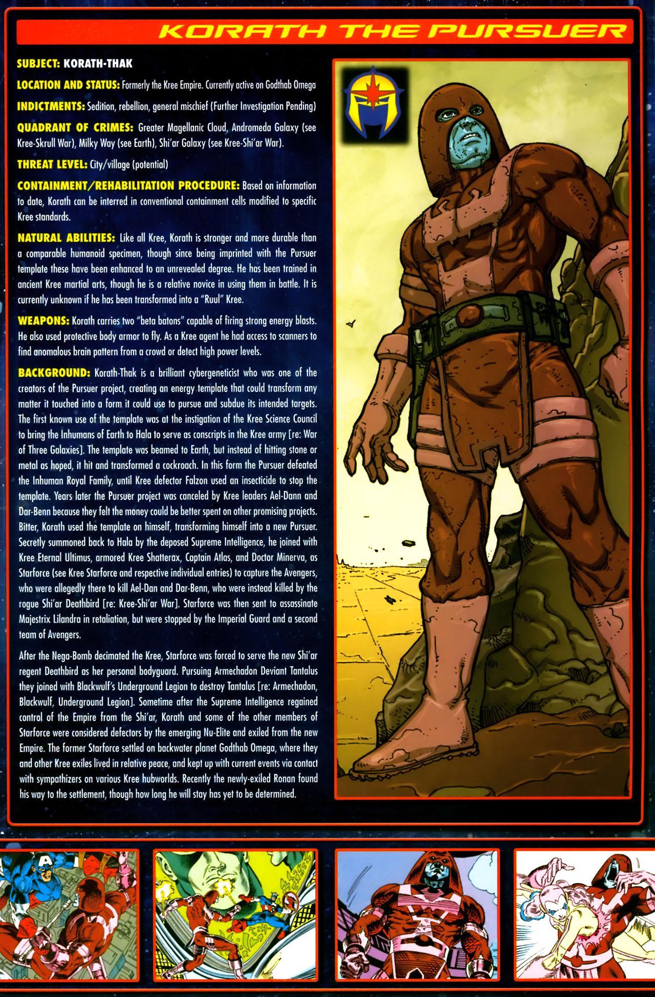 Read online Annihilation:  The  Nova Corps Files comic -  Issue #Annihilation:  The  Nova Corps Files Full - 19