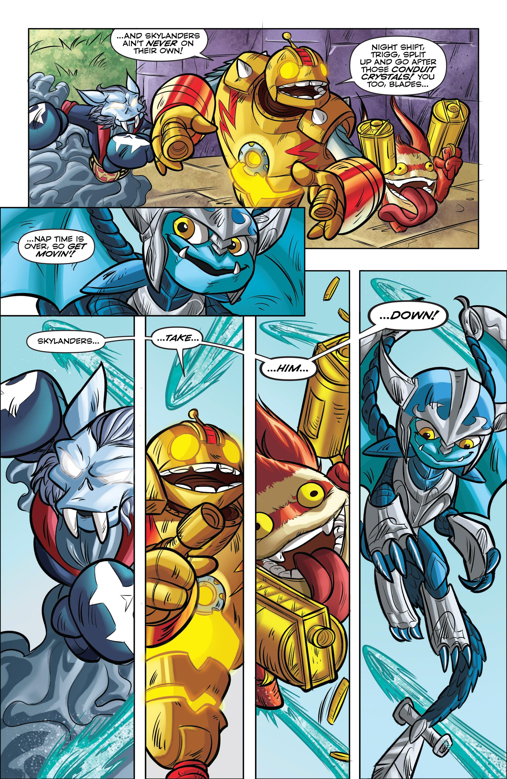 Read online Skylanders comic -  Issue #5 - 15