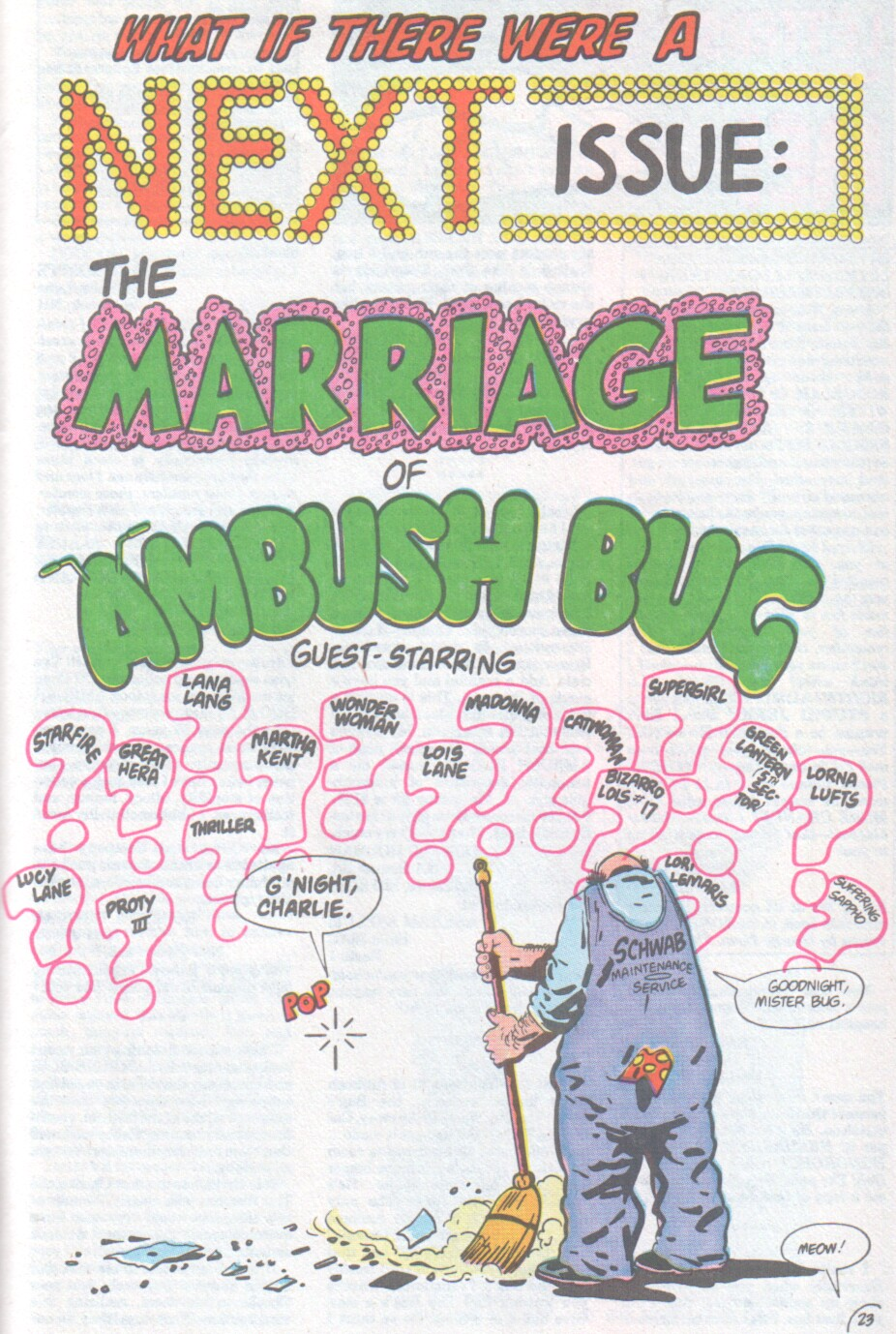Read online Ambush Bug comic -  Issue #4 - 24