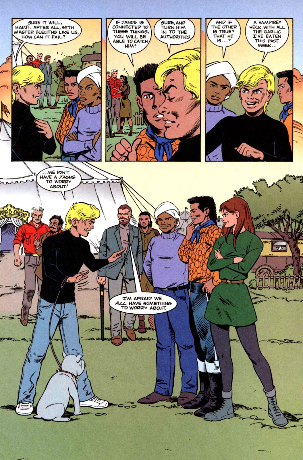 Read online The Real Adventures of Jonny Quest comic -  Issue #1 - 29