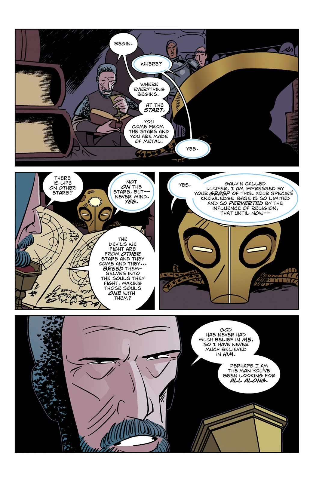 Read online Dark Ages comic -  Issue #3 - 16