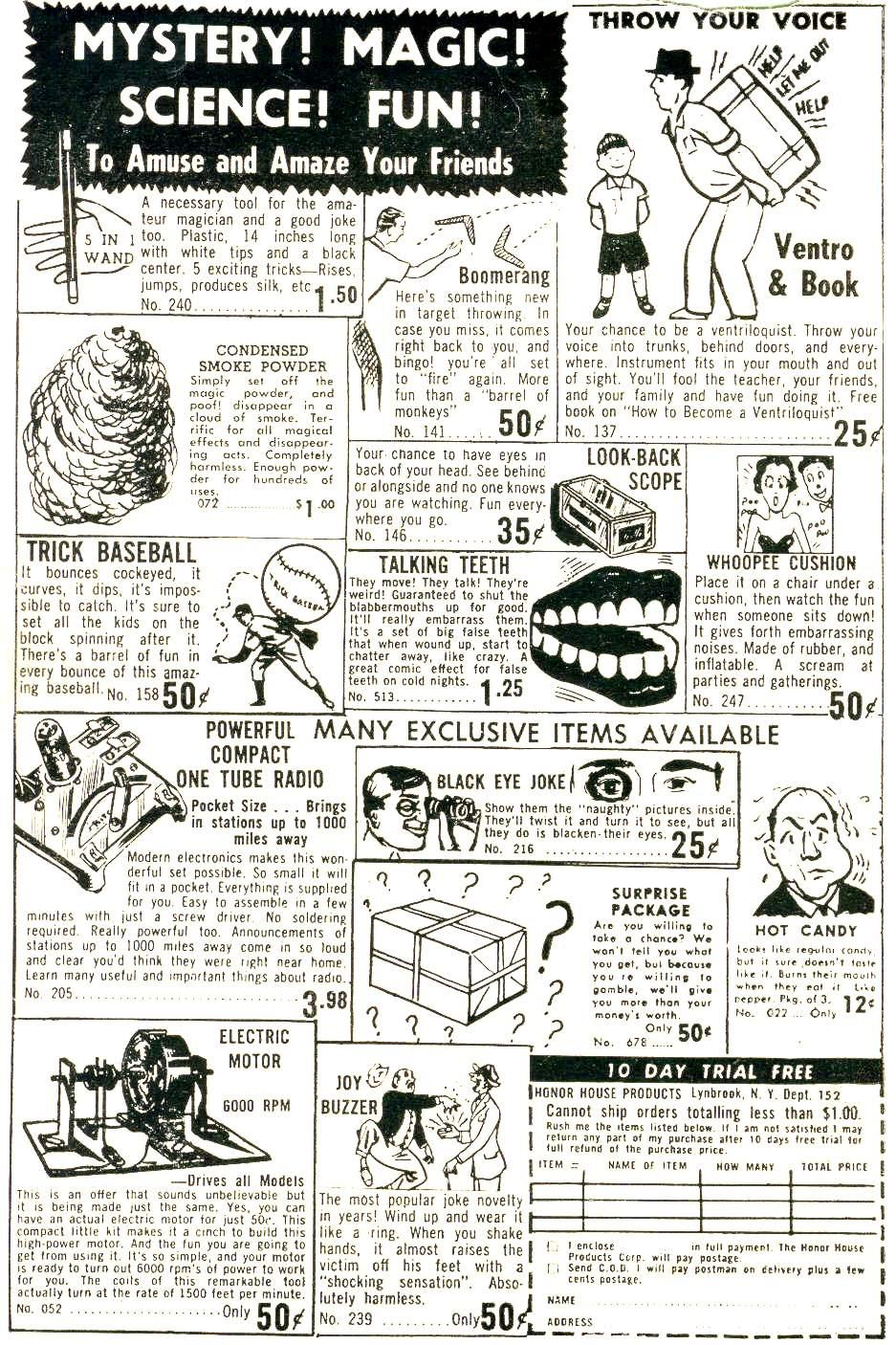 Read online Adventure Comics (1938) comic -  Issue #232 - 2