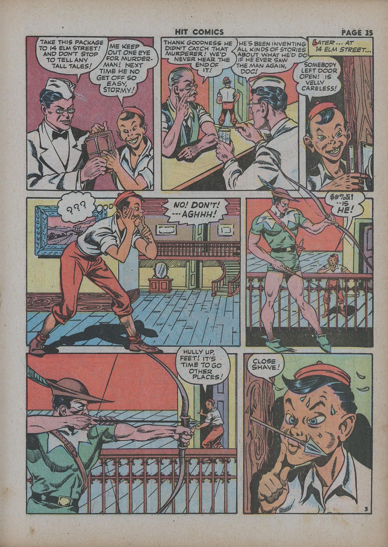 Read online Hit Comics comic -  Issue #27 - 37