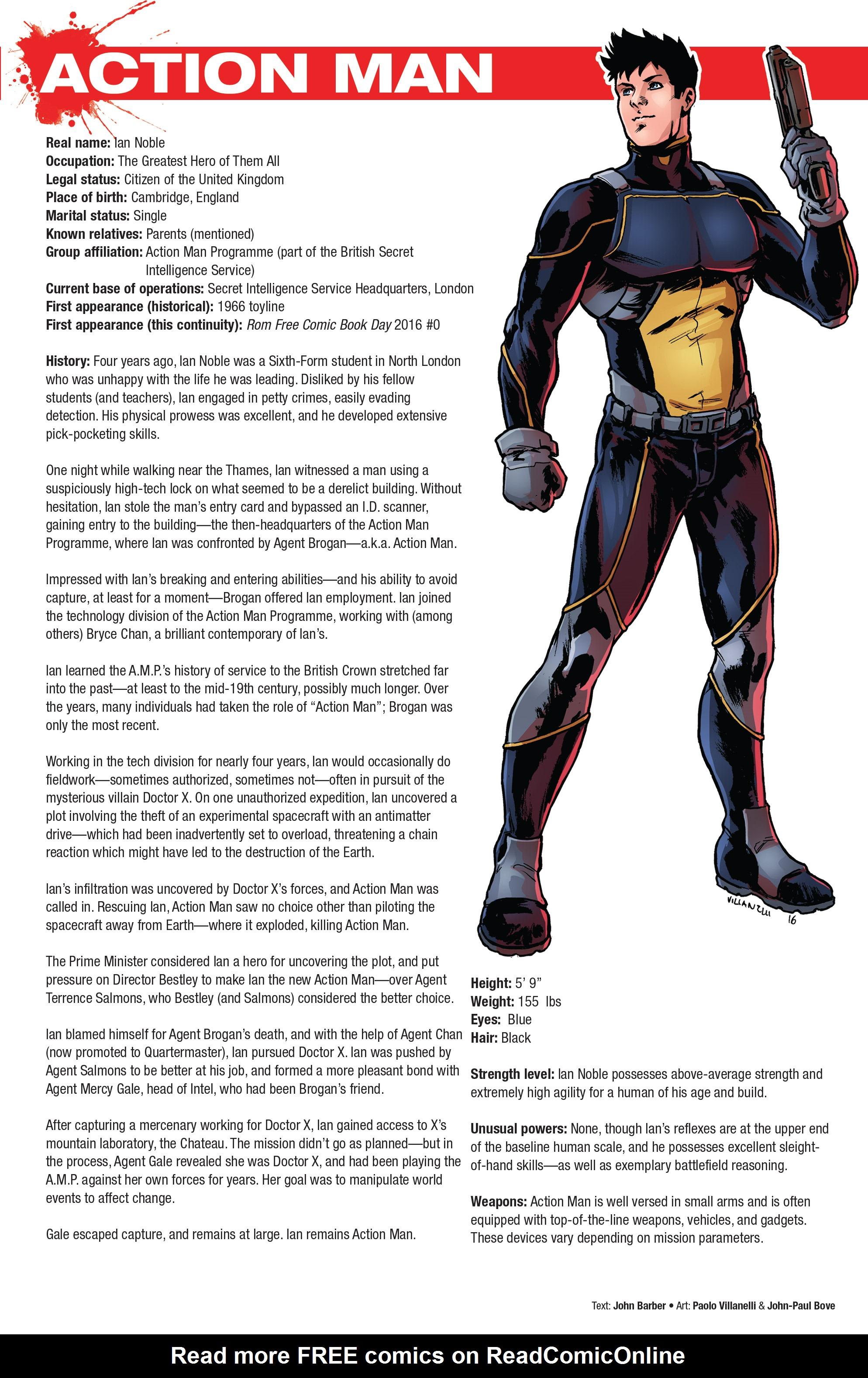 Read online Hasbro Heroes Sourcebook comic -  Issue #1 - 9