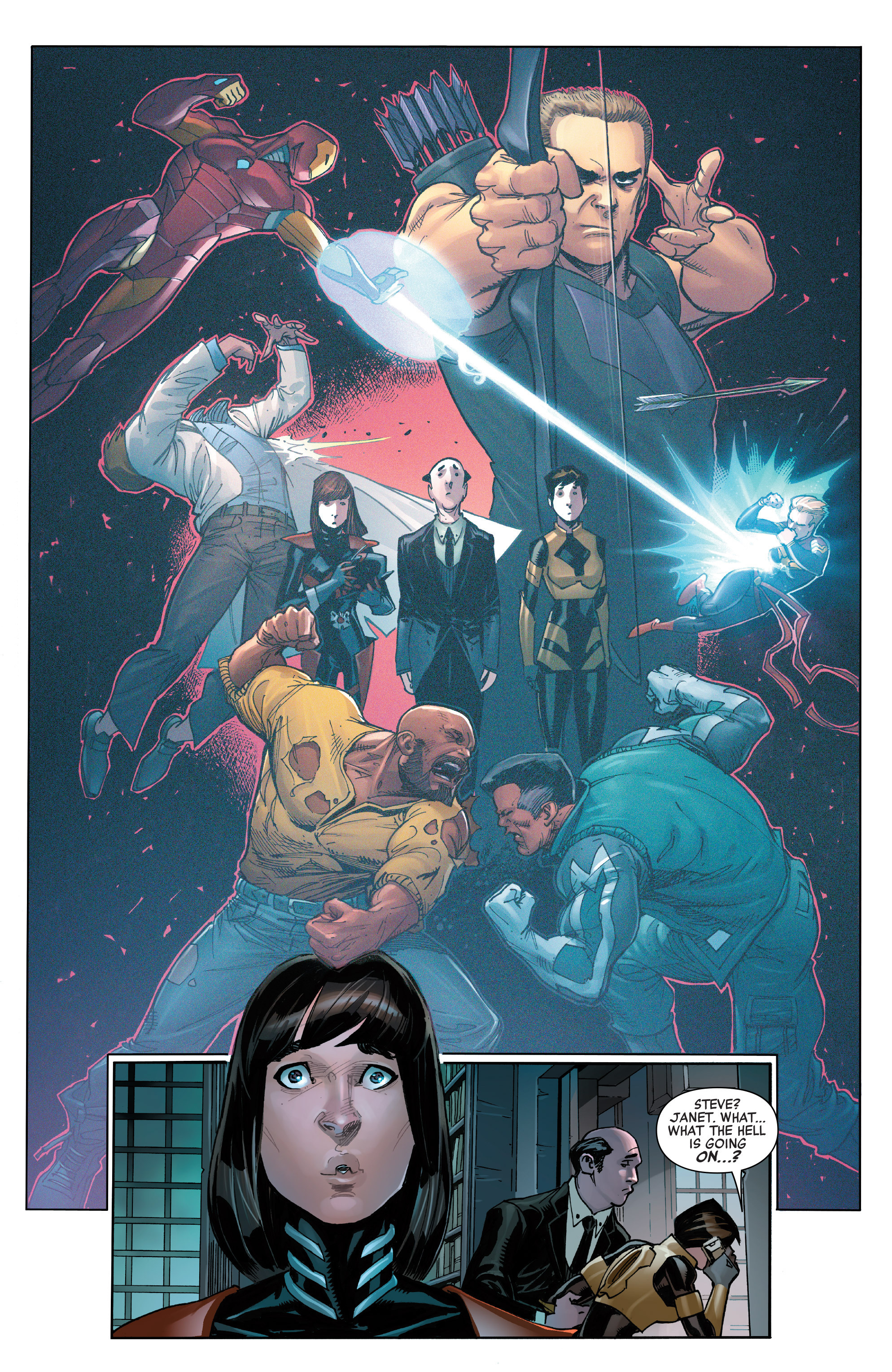 Read online All-New, All-Different Avengers comic -  Issue #14 - 11