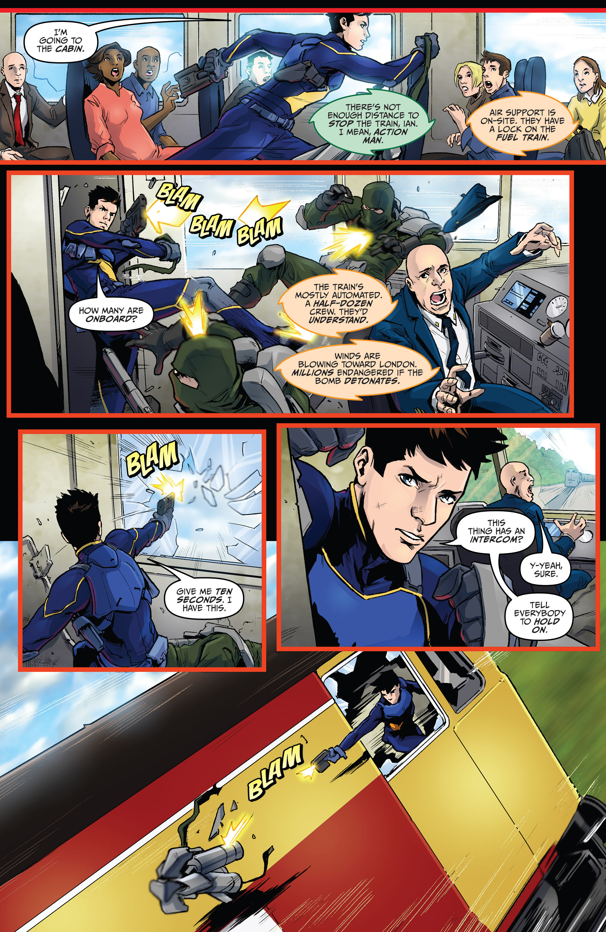 Read online Action Man comic -  Issue #1 - 13