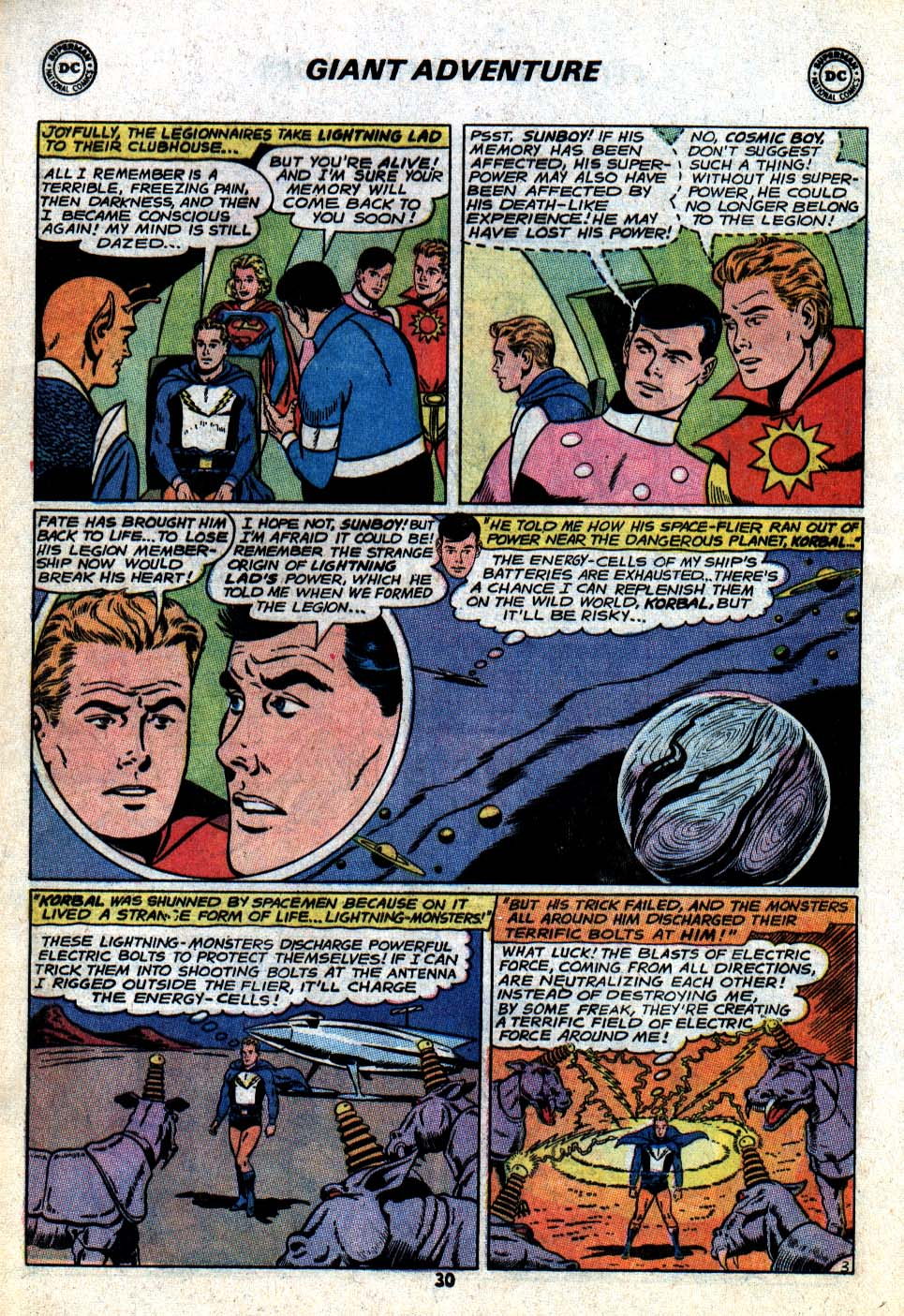Read online Adventure Comics (1938) comic -  Issue #403 - 32