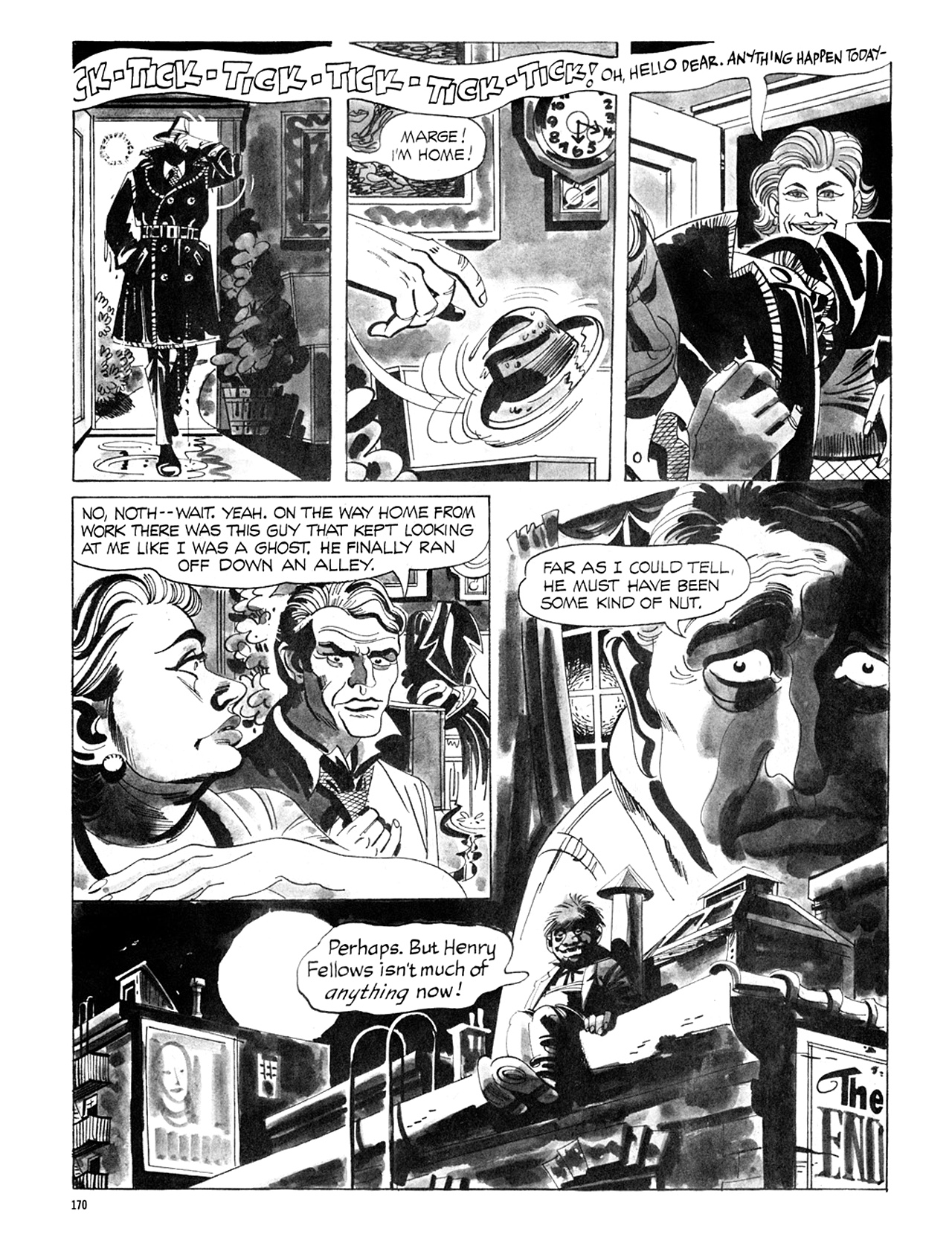 Read online Eerie Archives comic -  Issue # TPB 6 - 170