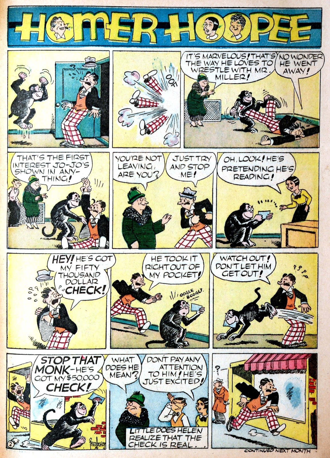 Read online Famous Funnies comic -  Issue #68 - 61