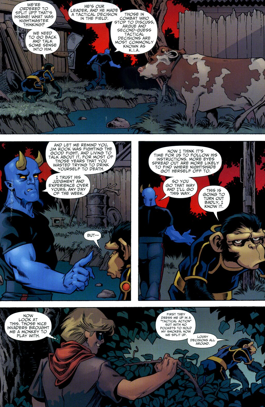Read online Shadowpact comic -  Issue #2 - 5