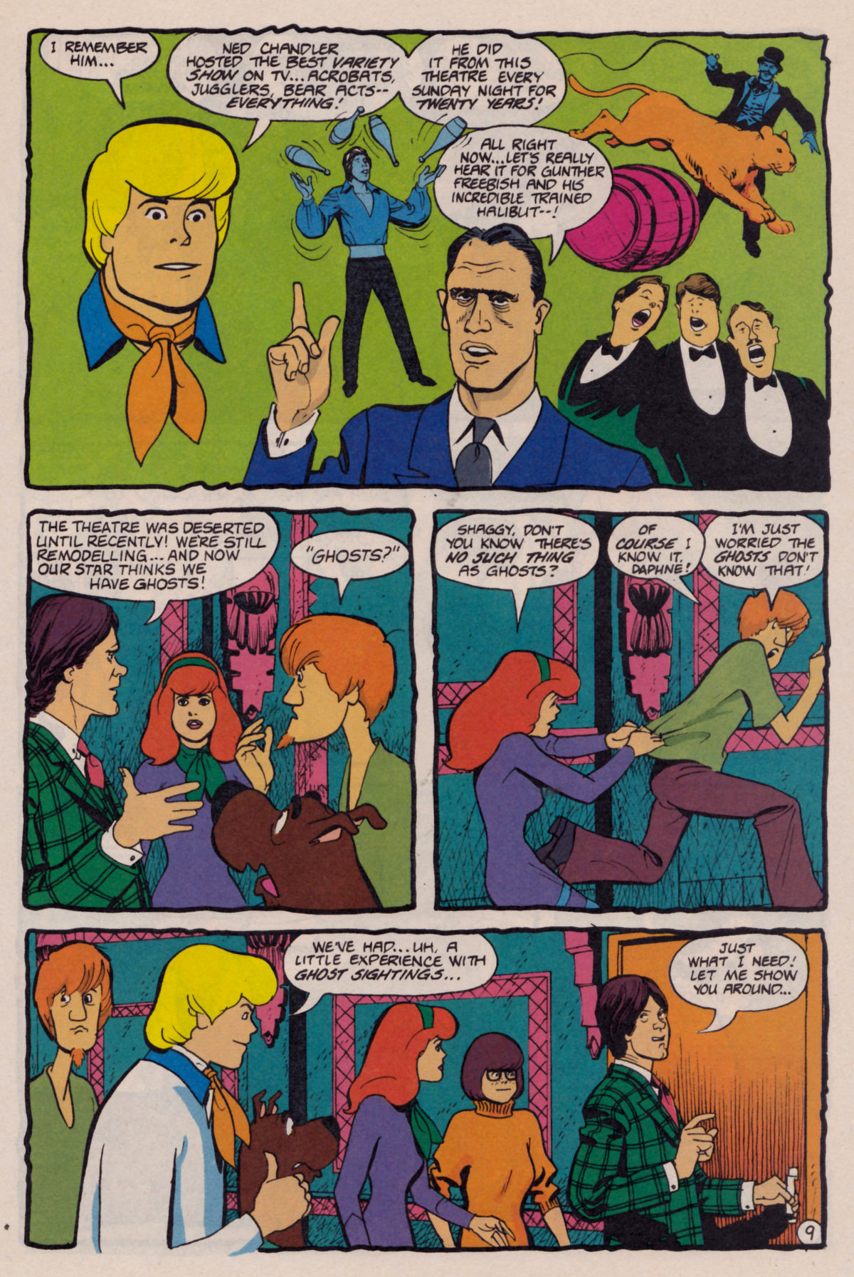 Read online Scooby-Doo (1995) comic -  Issue #10 - 10