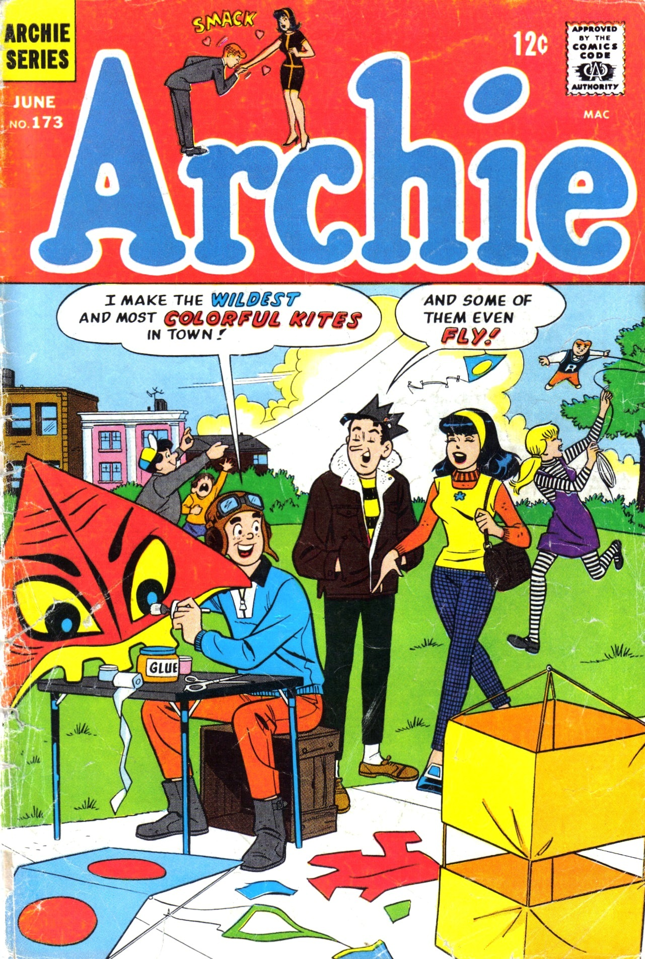 Read online Archie (1960) comic -  Issue #173 - 1