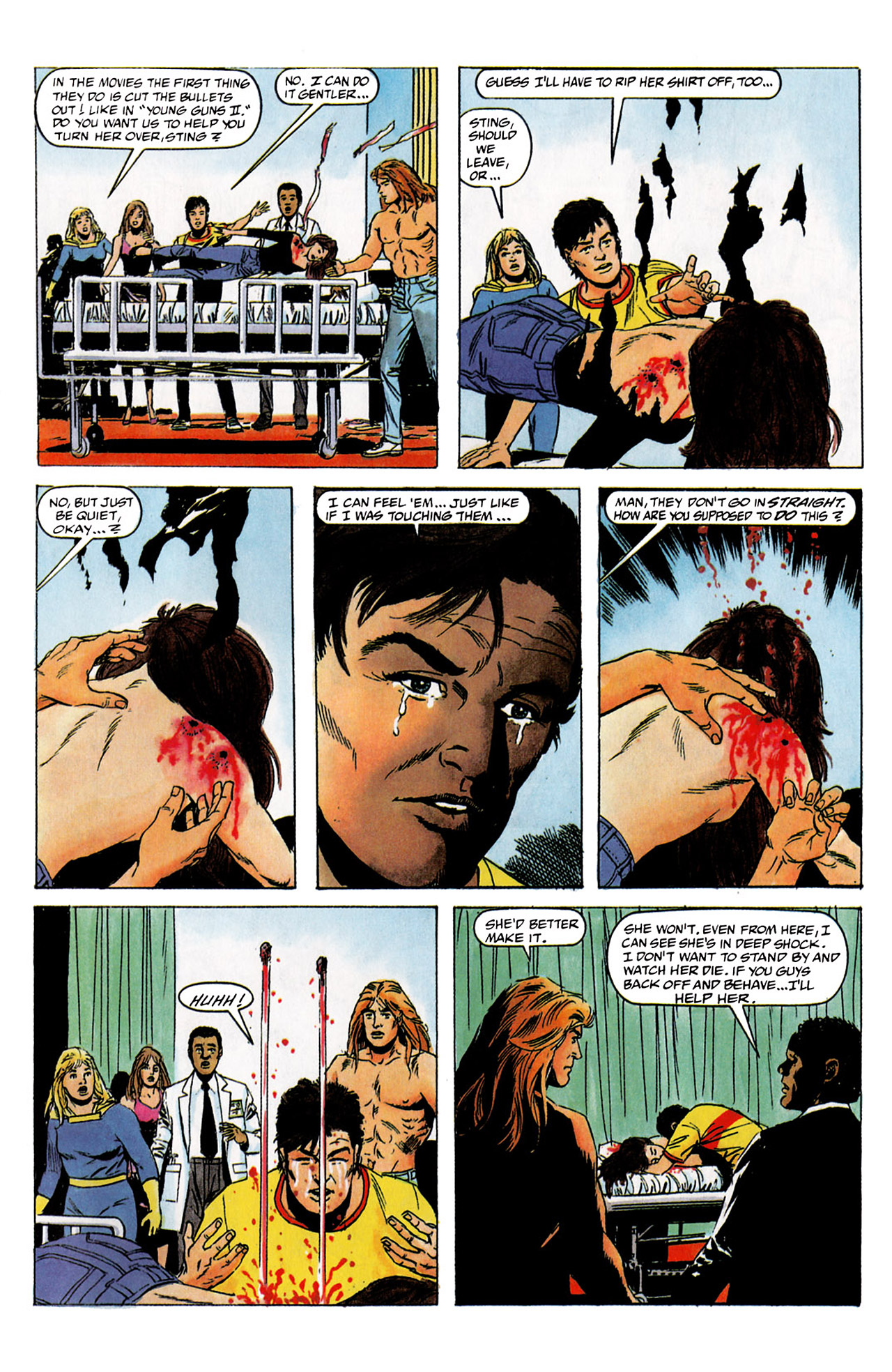Read online Harbinger (1992) comic -  Issue #2 - 4