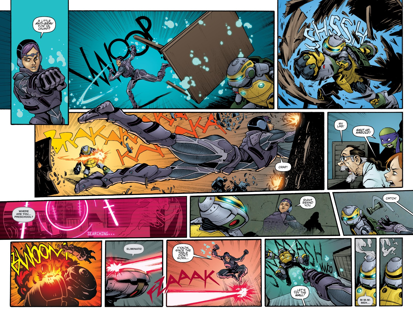 Read online Teenage Mutant Ninja Turtles: The IDW Collection comic -  Issue # TPB 4 (Part 3) - 51