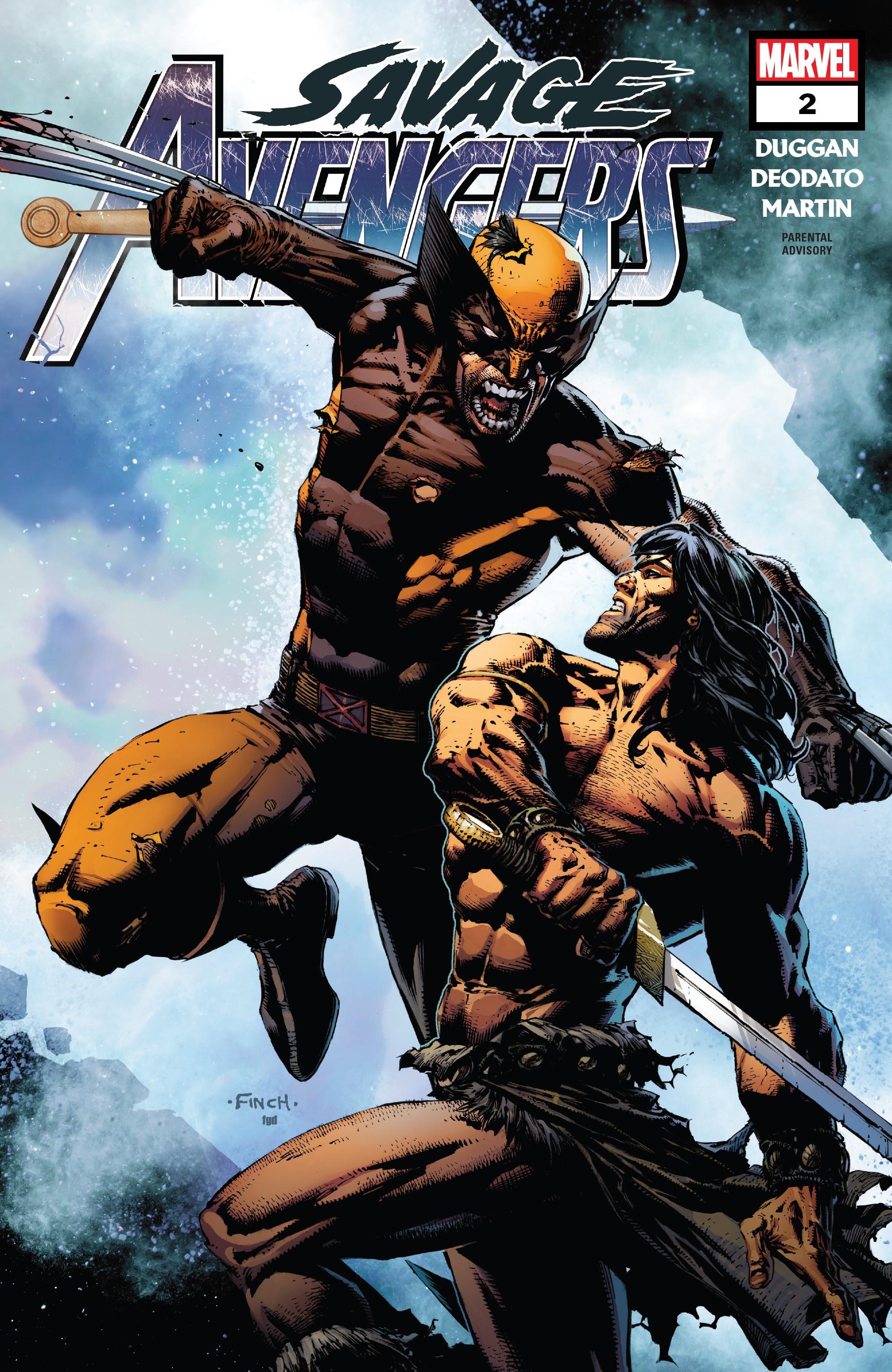 Savage Avengers 2 Page 1