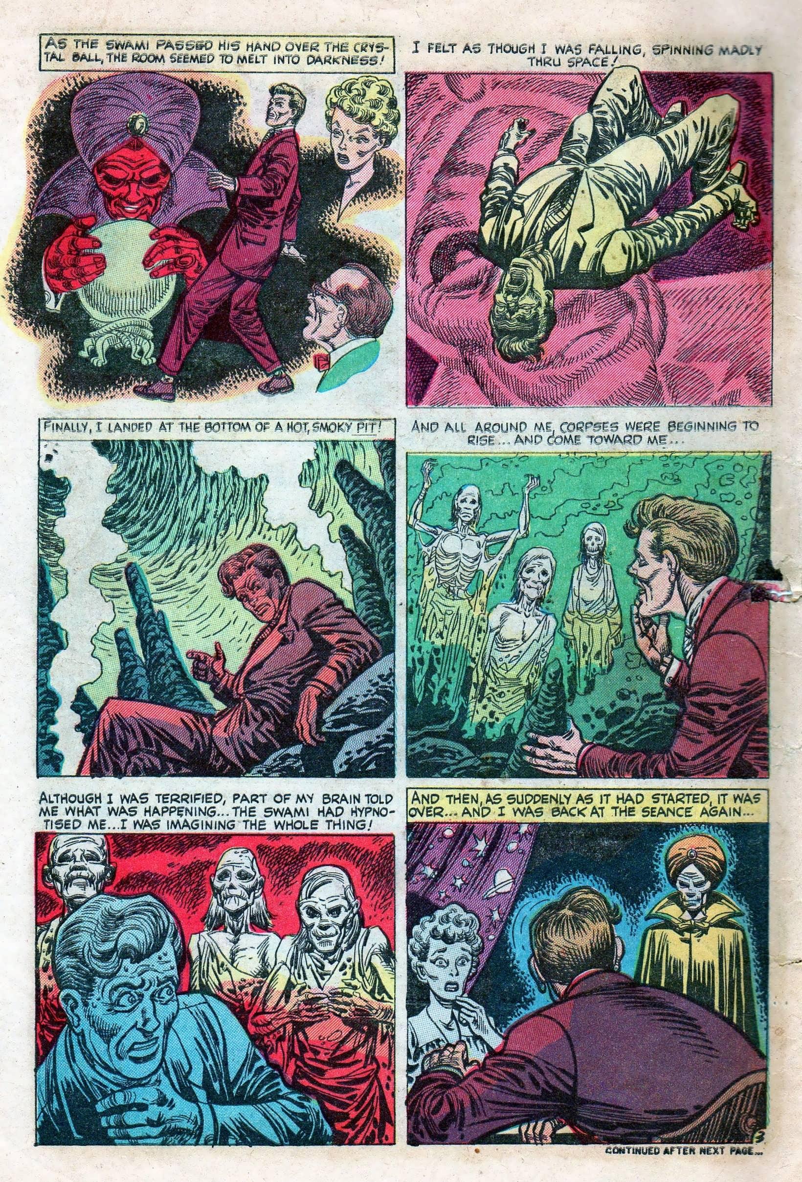 Read online Adventures into Weird Worlds comic -  Issue #11 - 10