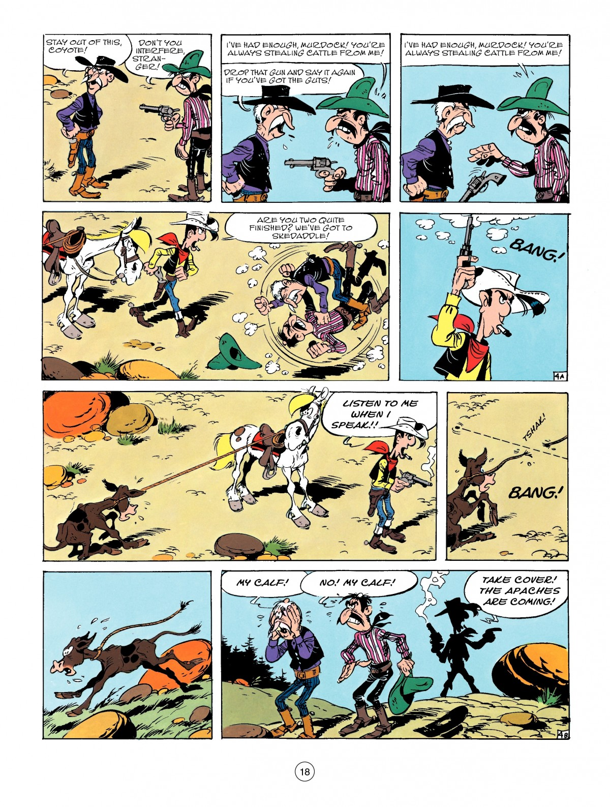 Read online A Lucky Luke Adventure comic -  Issue #50 - 18