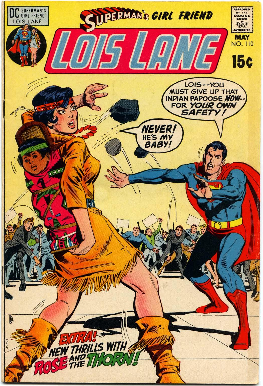 Supermans Girl Friend, Lois Lane 110 Page 1