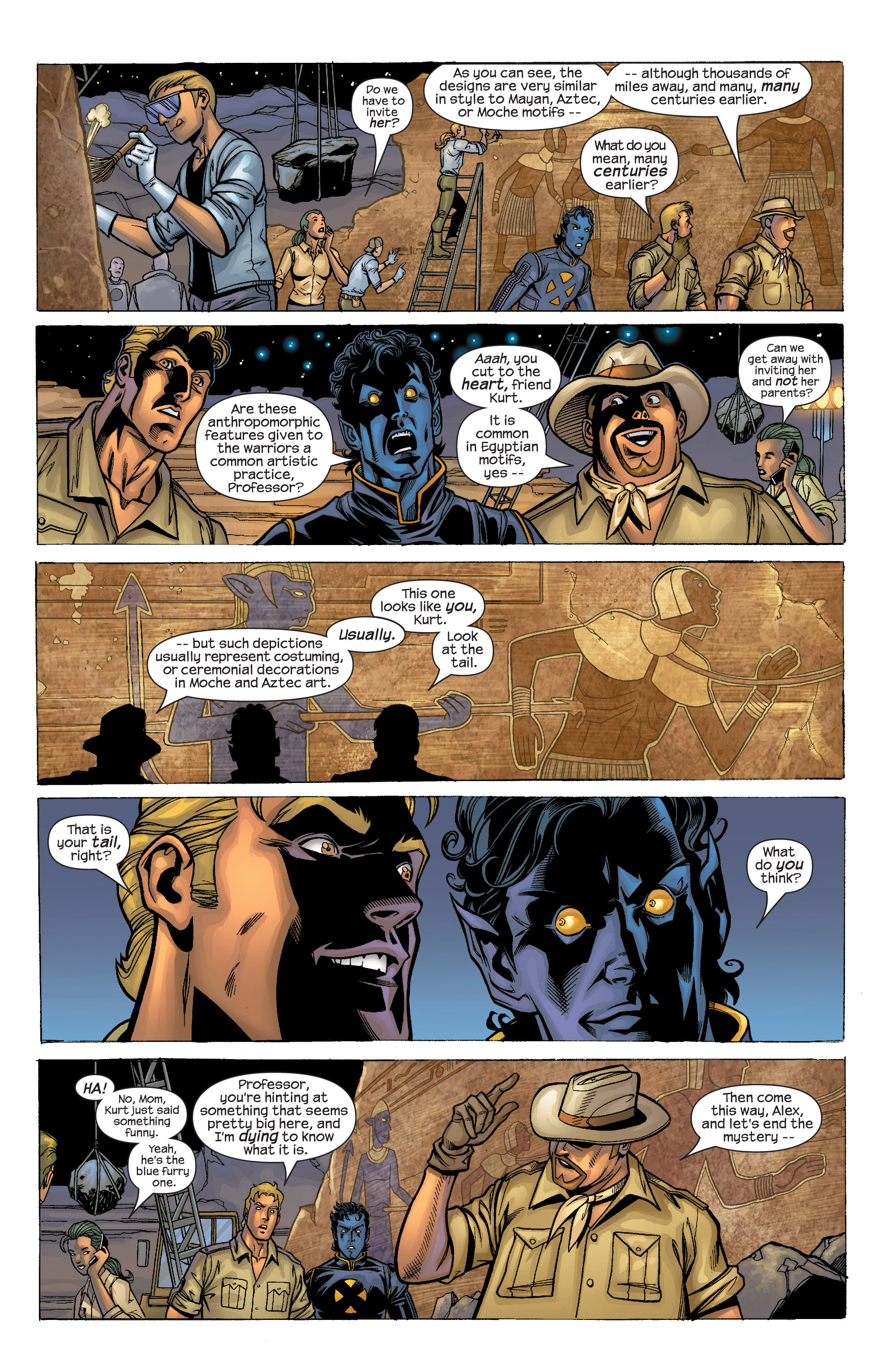 Read online Uncanny X-Men (1963) comic -  Issue #422 - 4