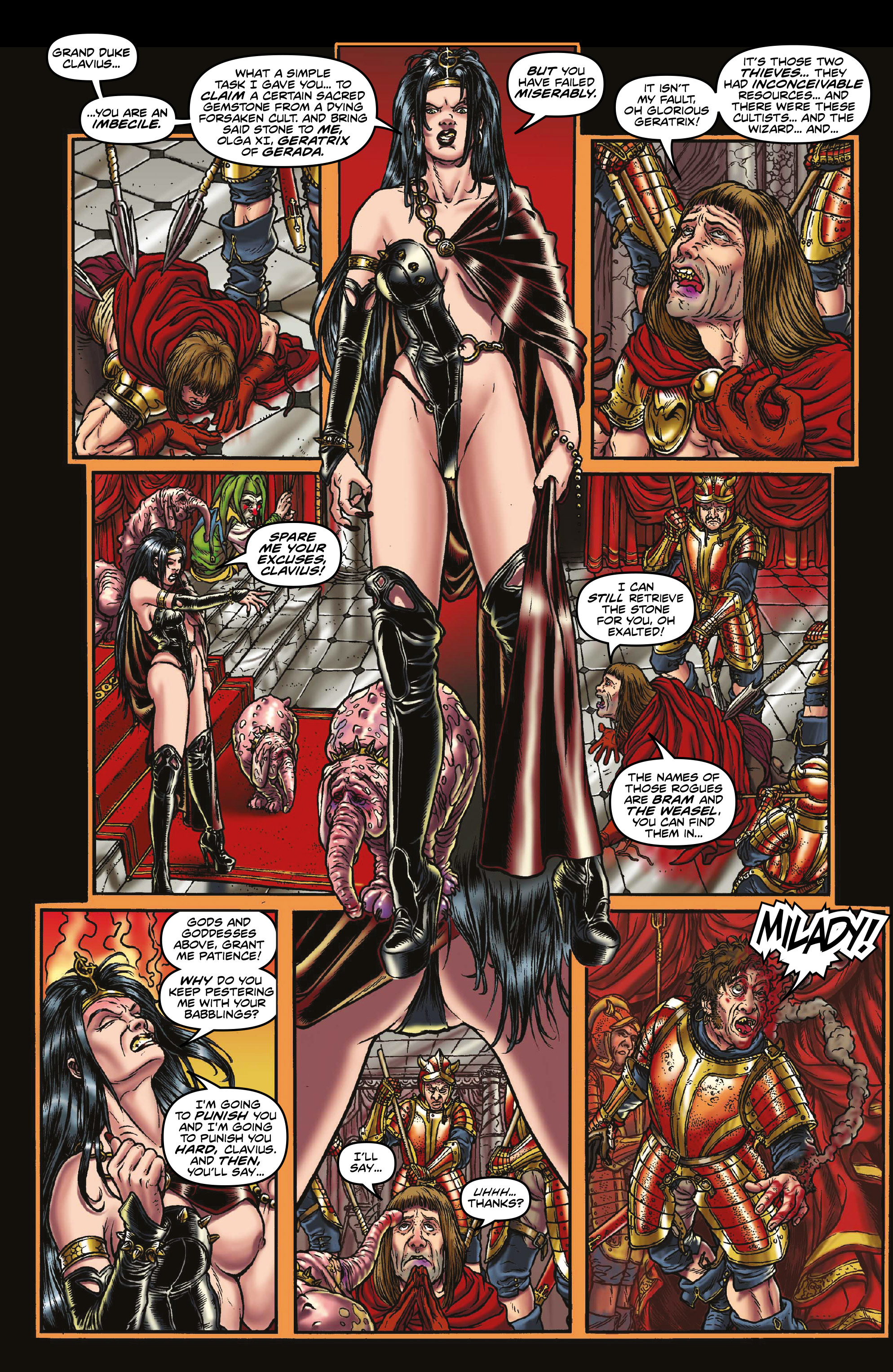 Read online Rogues!: The Burning Heart comic -  Issue #3 - 3