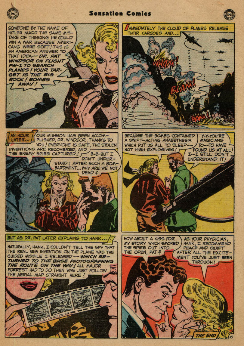 Read online Sensation (Mystery) Comics comic -  Issue #100 - 26
