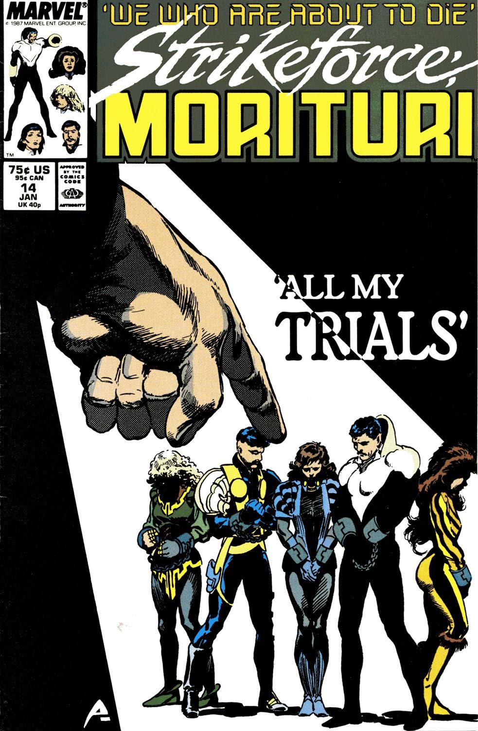 Strikeforce: Morituri 14 Page 1