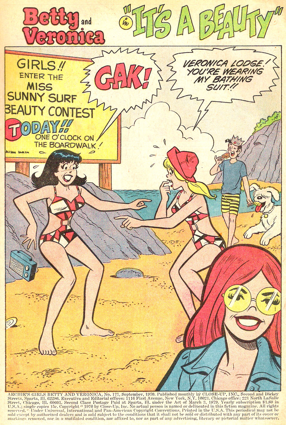 Read online Archie's Girls Betty and Veronica comic -  Issue #177 - 3