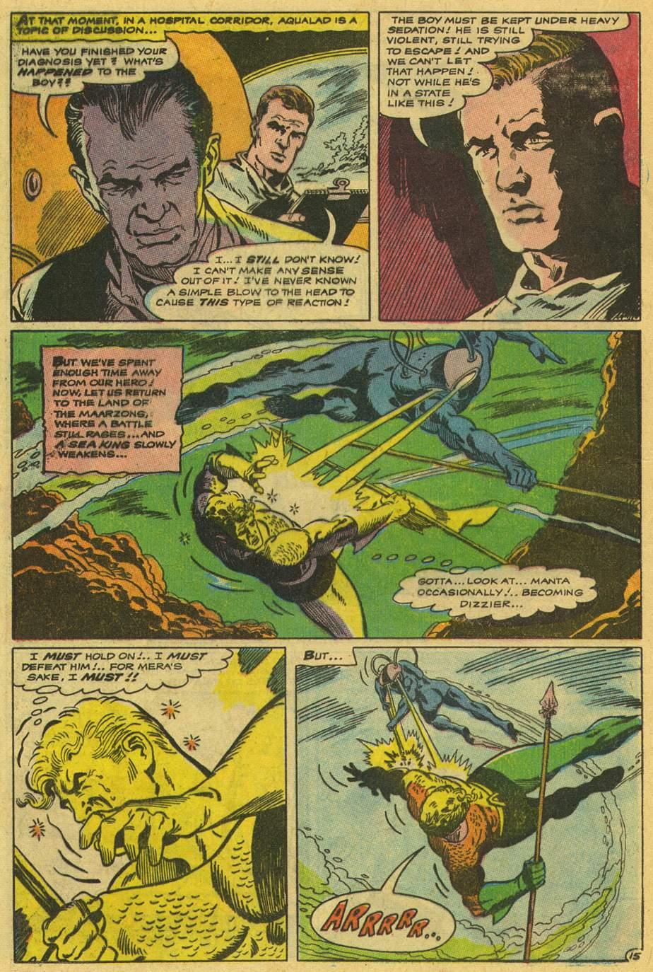 Read online Aquaman (1962) comic -  Issue #42 - 20