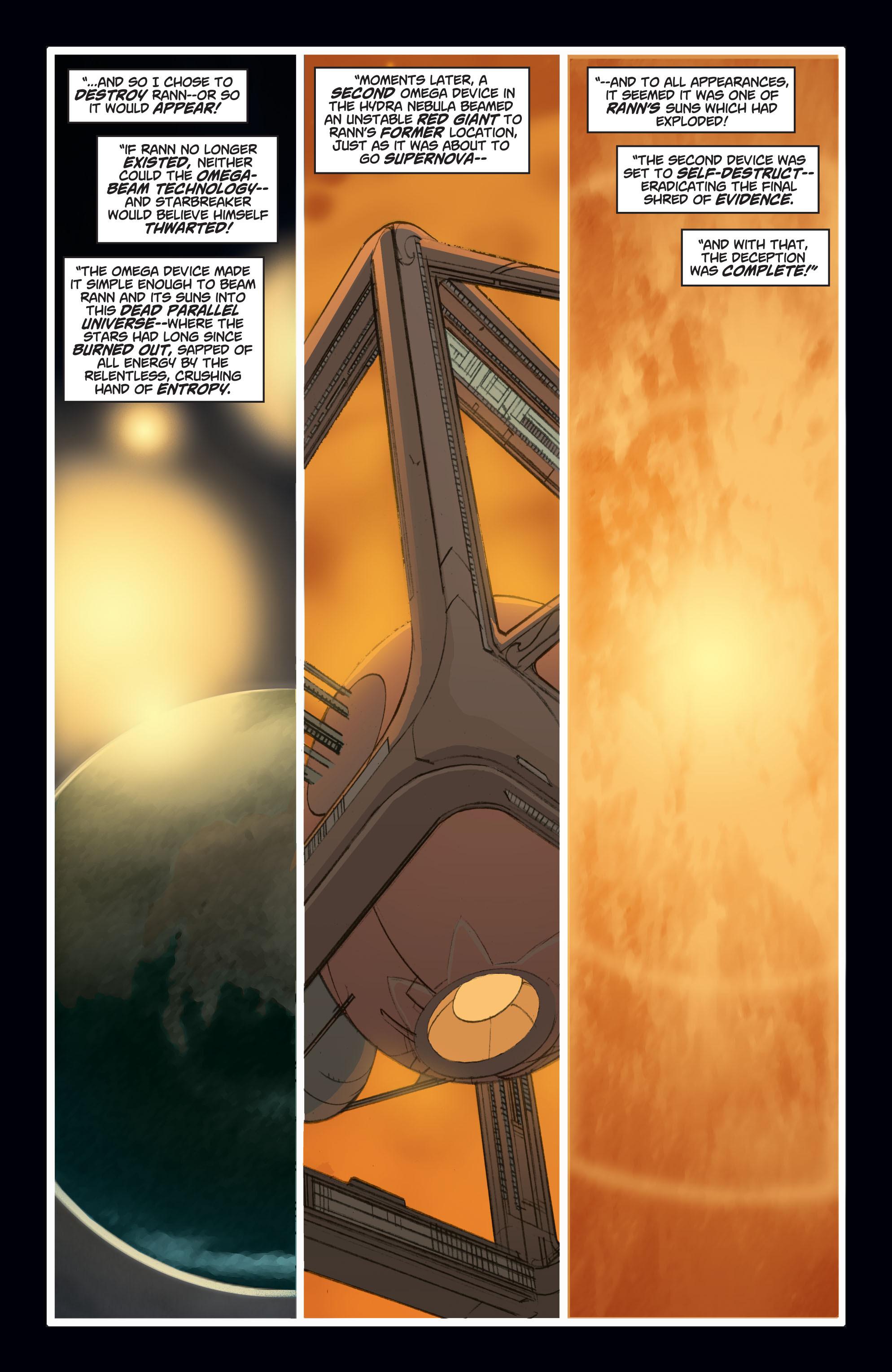 Read online Adam Strange (2004) comic -  Issue #7 - 10