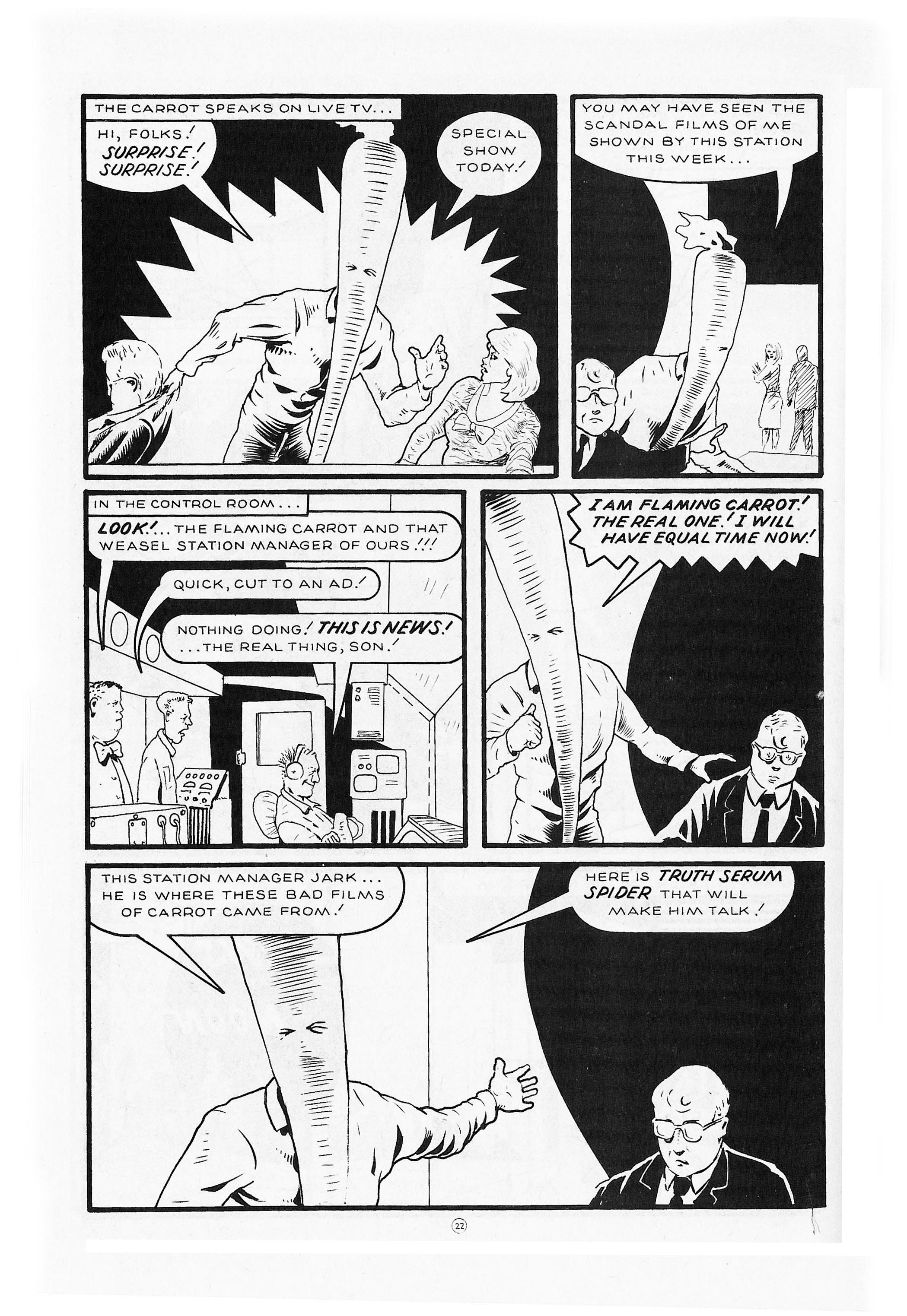 Read online Flaming Carrot Comics (1984) comic -  Issue #9 - 24