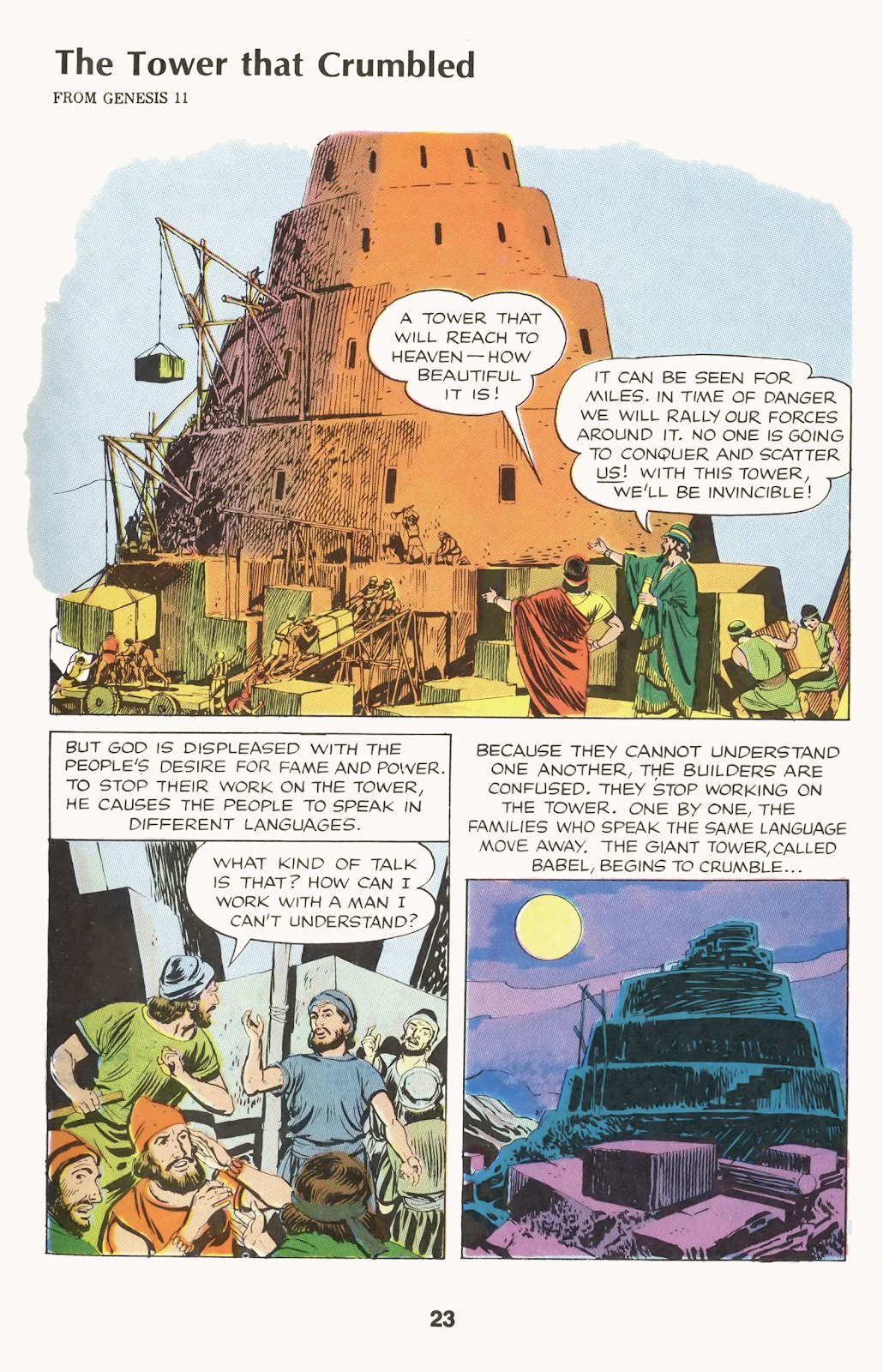 The Picture Bible issue TPB (Part 1) - Page 25
