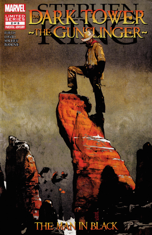 Read online Dark Tower: The Gunslinger - The Man in Black comic -  Issue #2 - 1