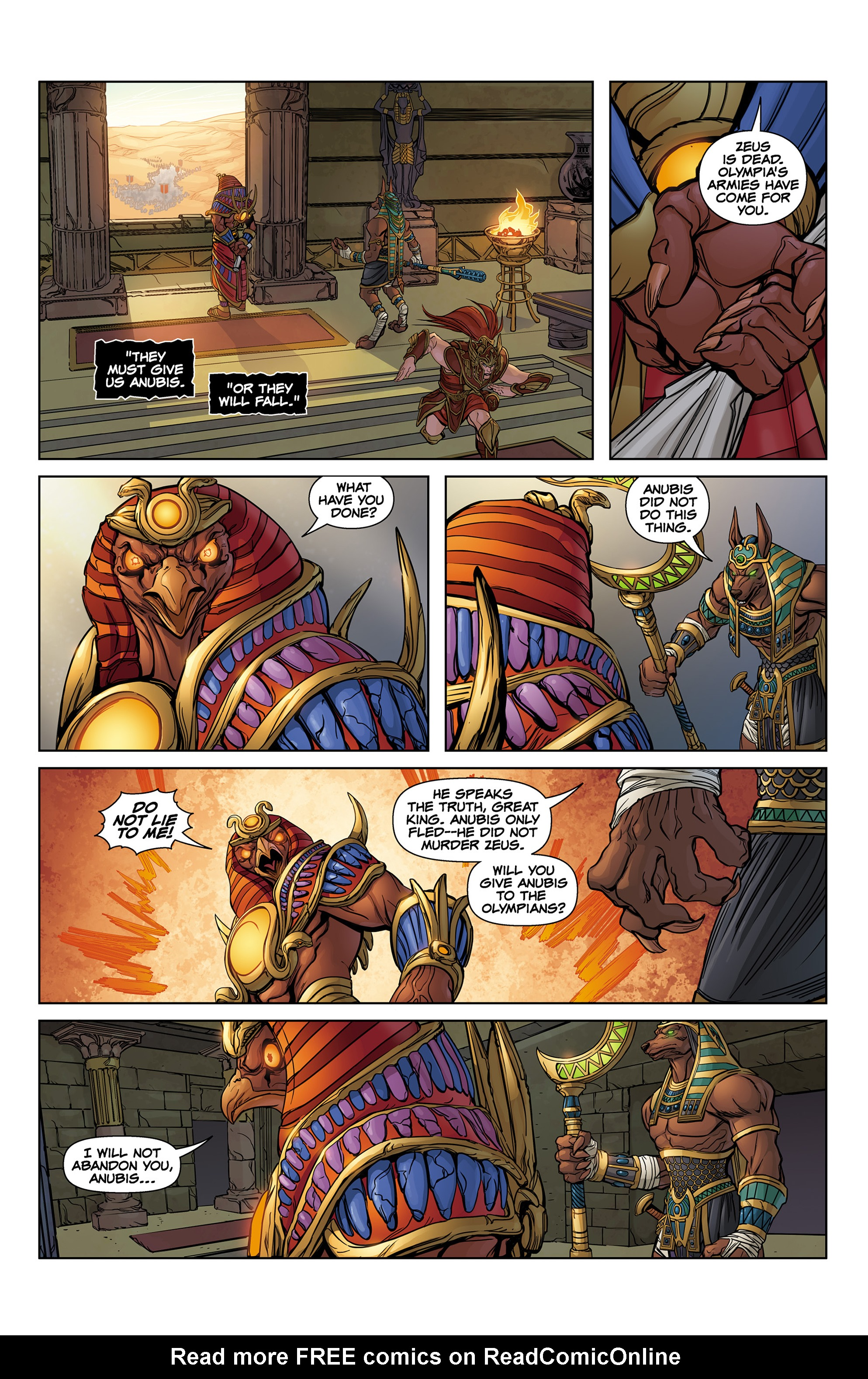 Read online SMITE: The Pantheon War comic -  Issue #1 - 21