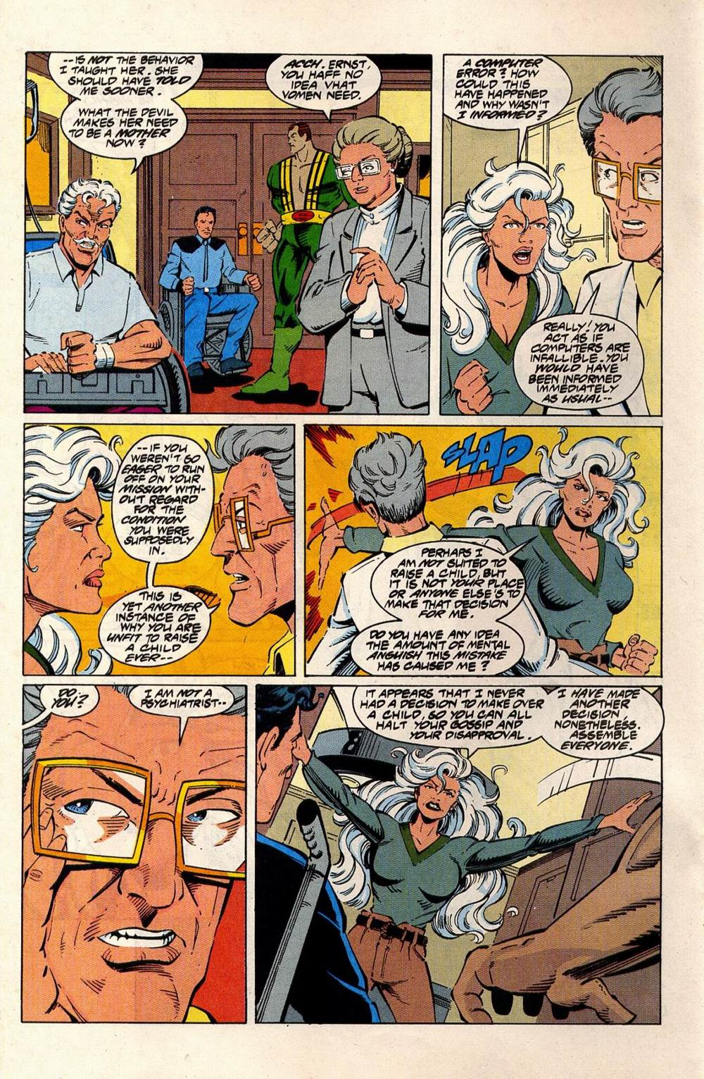 Read online Silver Sable and the Wild Pack comic -  Issue #33 - 21