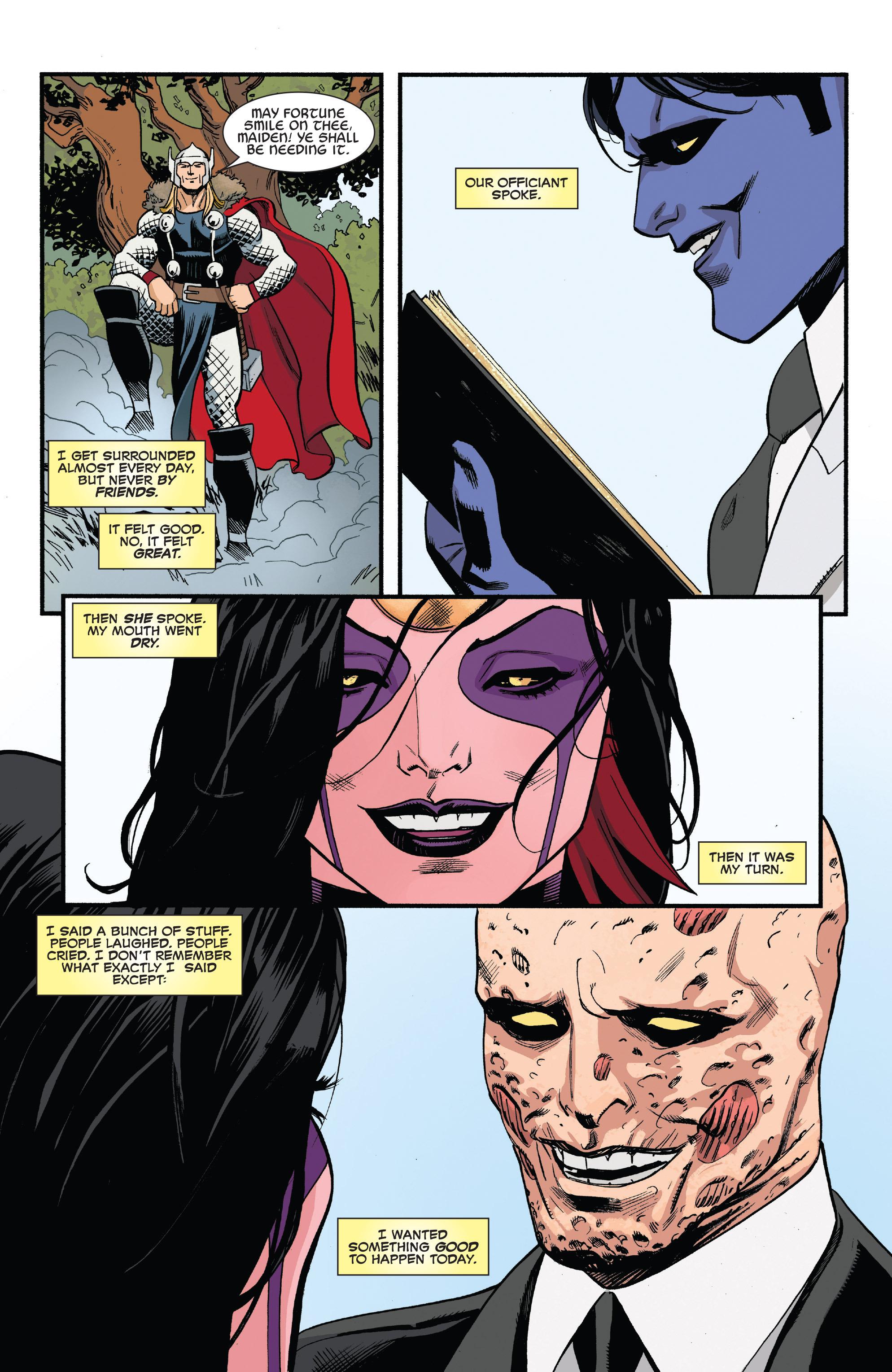 Read online True Believers: The Wedding of Deadpool comic -  Issue # Full - 16