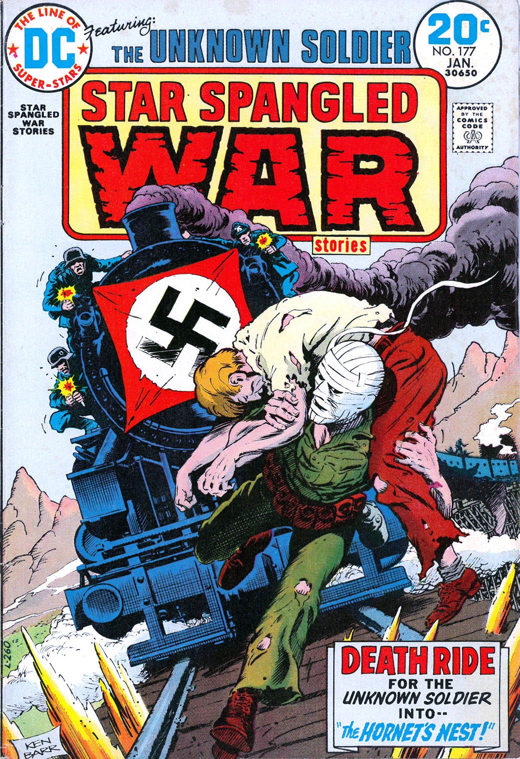 Read online Star Spangled War Stories (1952) comic -  Issue #177 - 1