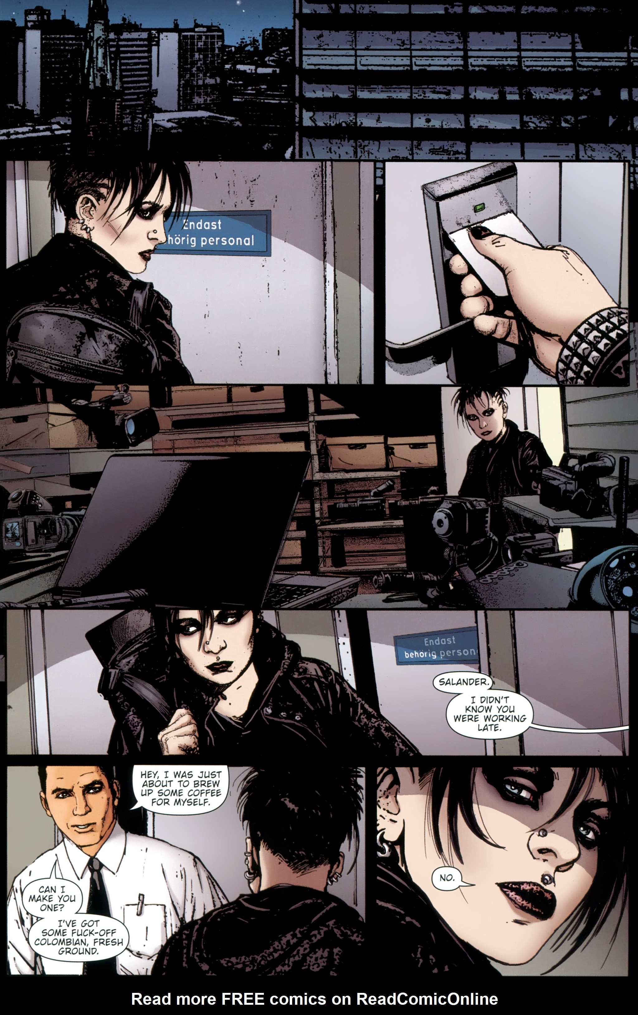 Read online The Girl With the Dragon Tattoo comic -  Issue # TPB 1 - 114