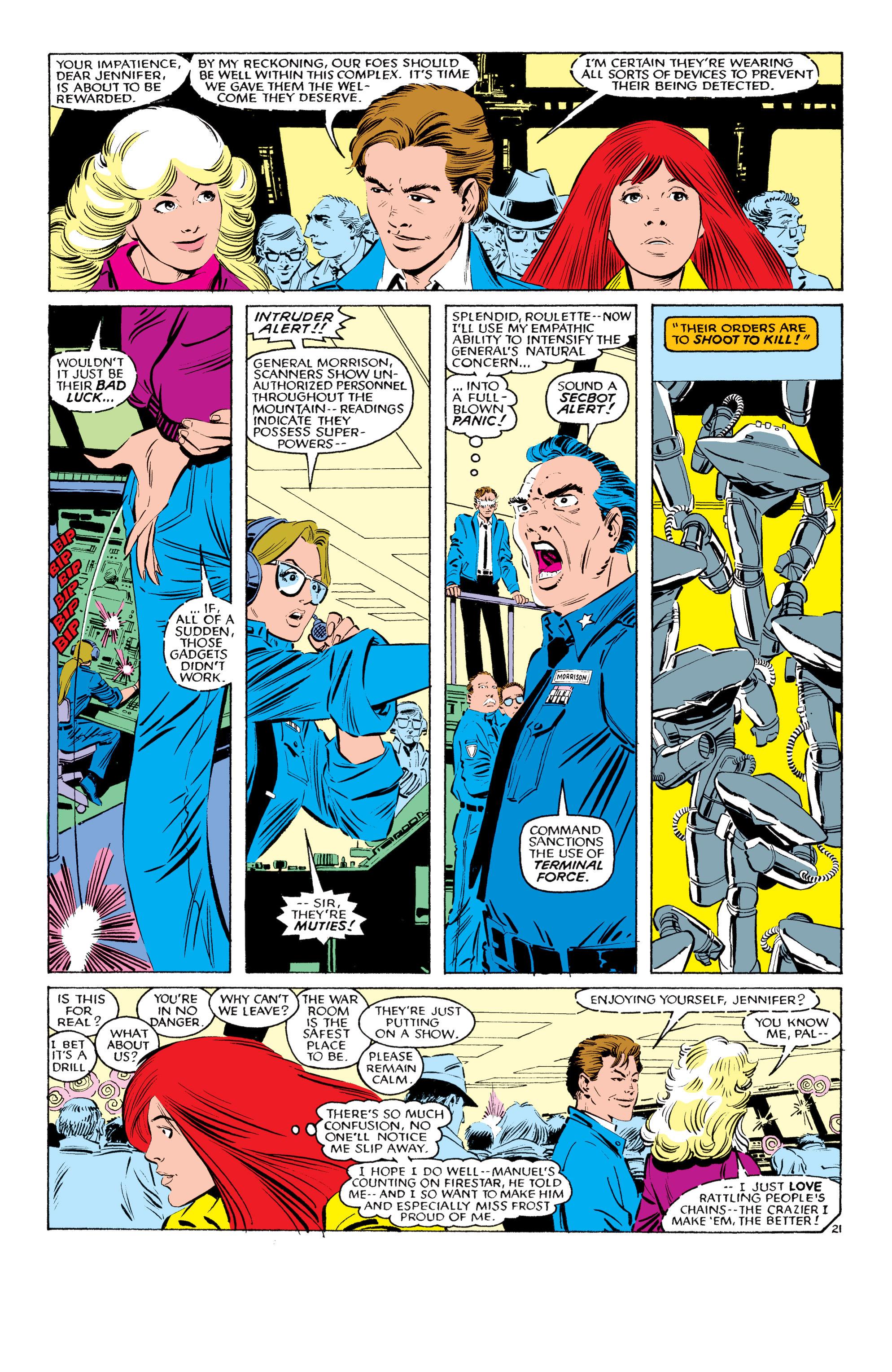Read online Uncanny X-Men (1963) comic -  Issue #193 - 22