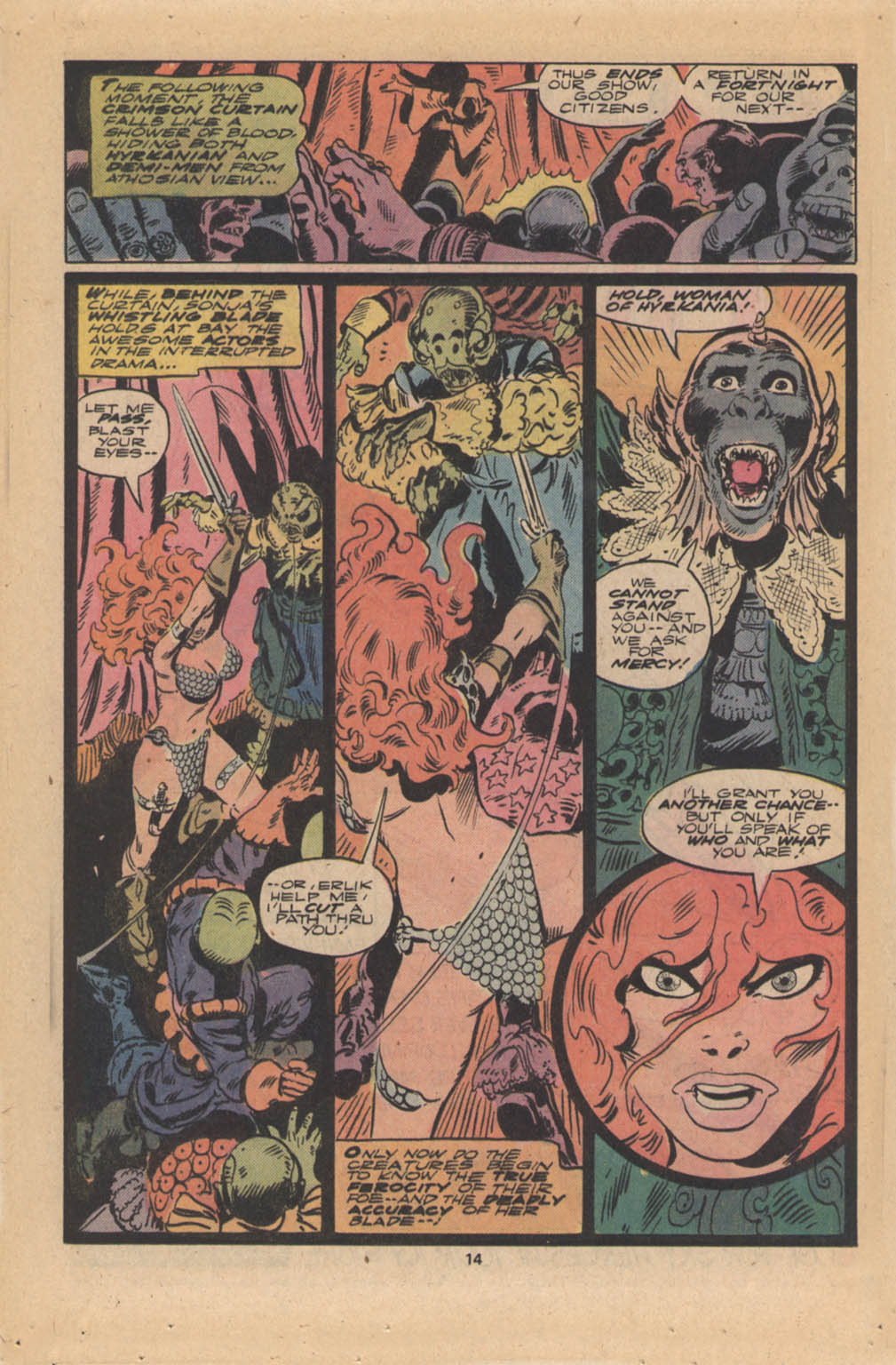 Red Sonja (1977) issue 4 - Page 9
