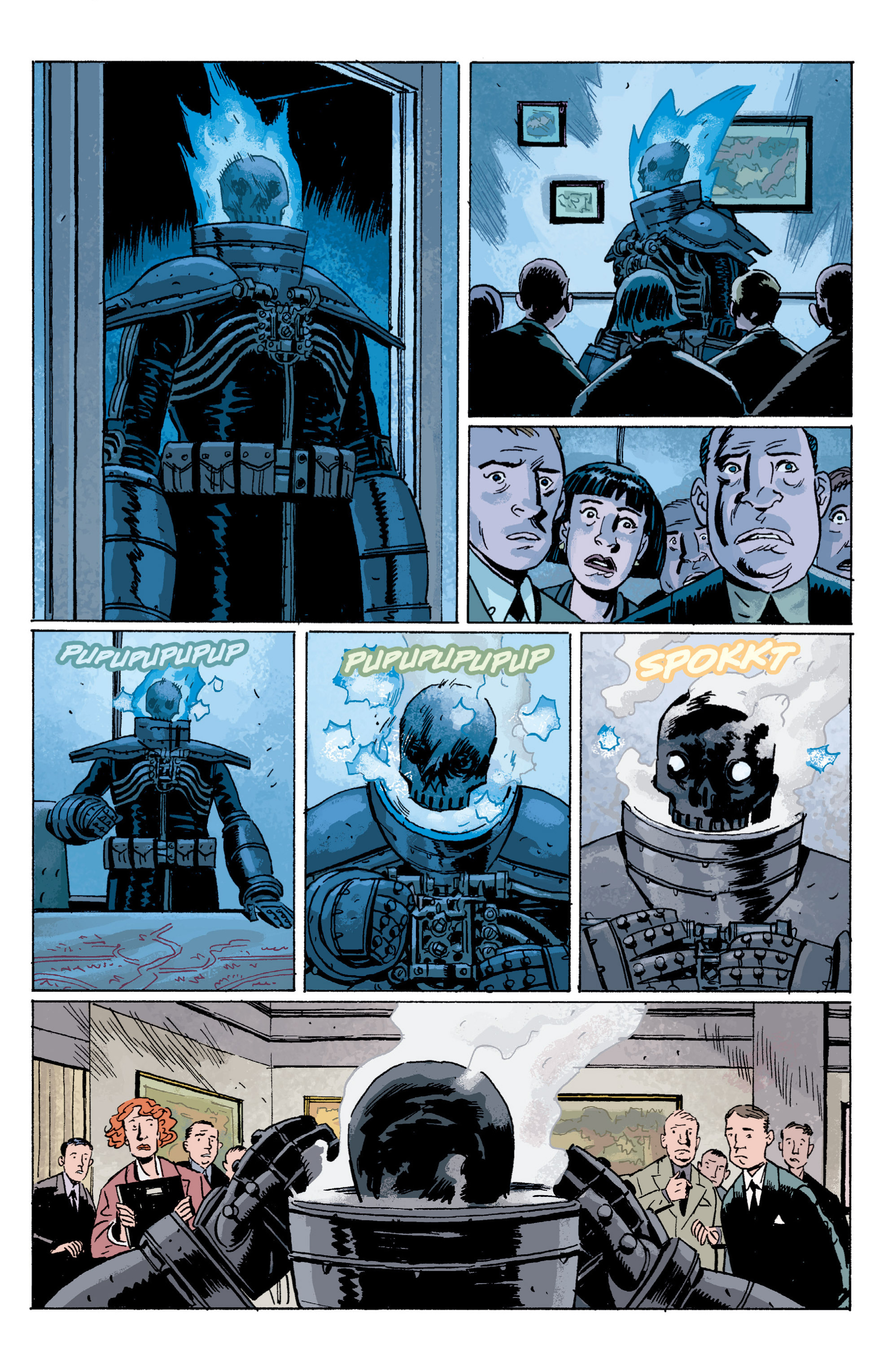 Read online B.P.R.D. (2003) comic -  Issue # TPB 5 - 64