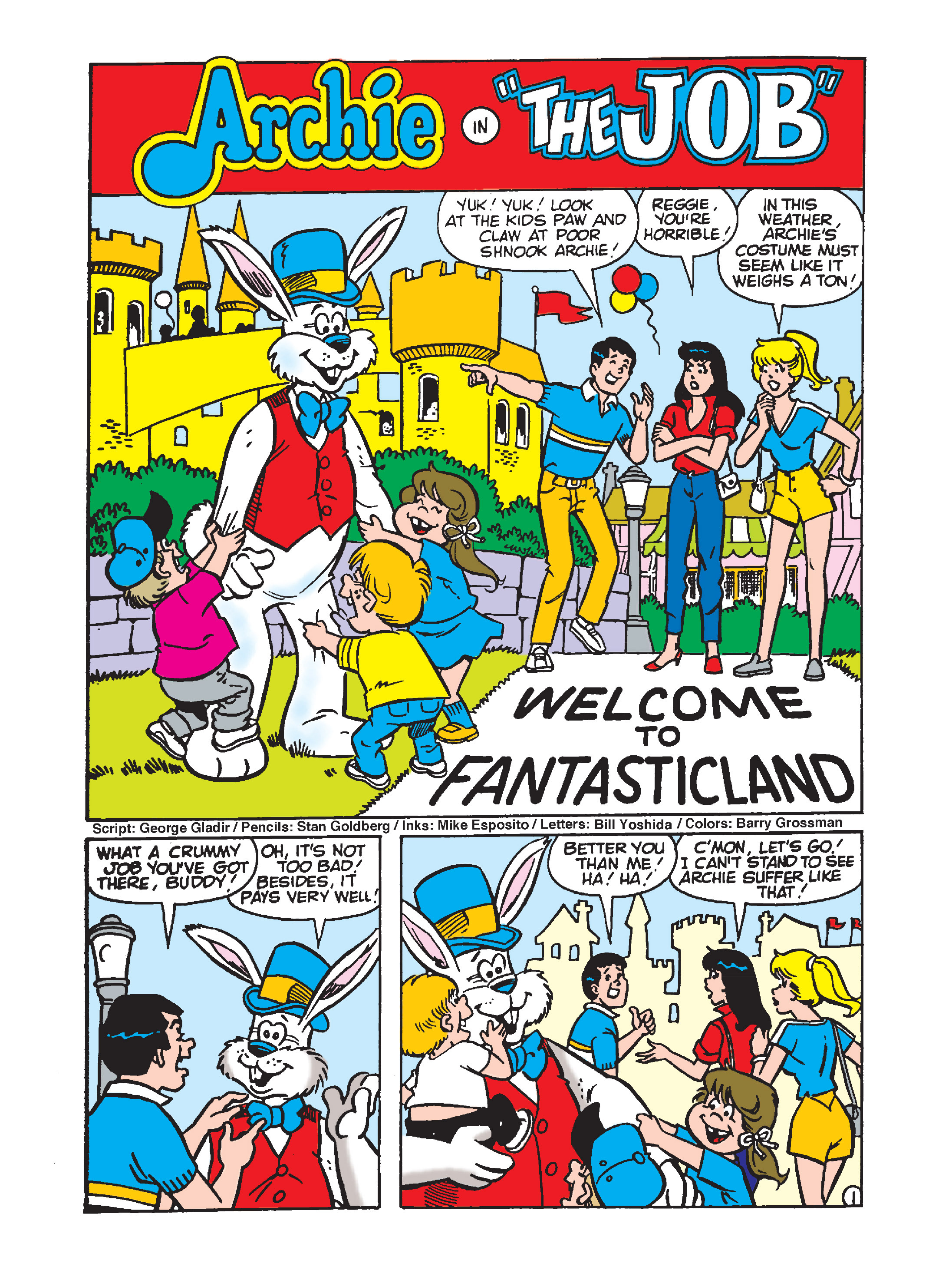 Read online Archie's Funhouse Double Digest comic -  Issue #7 - 140