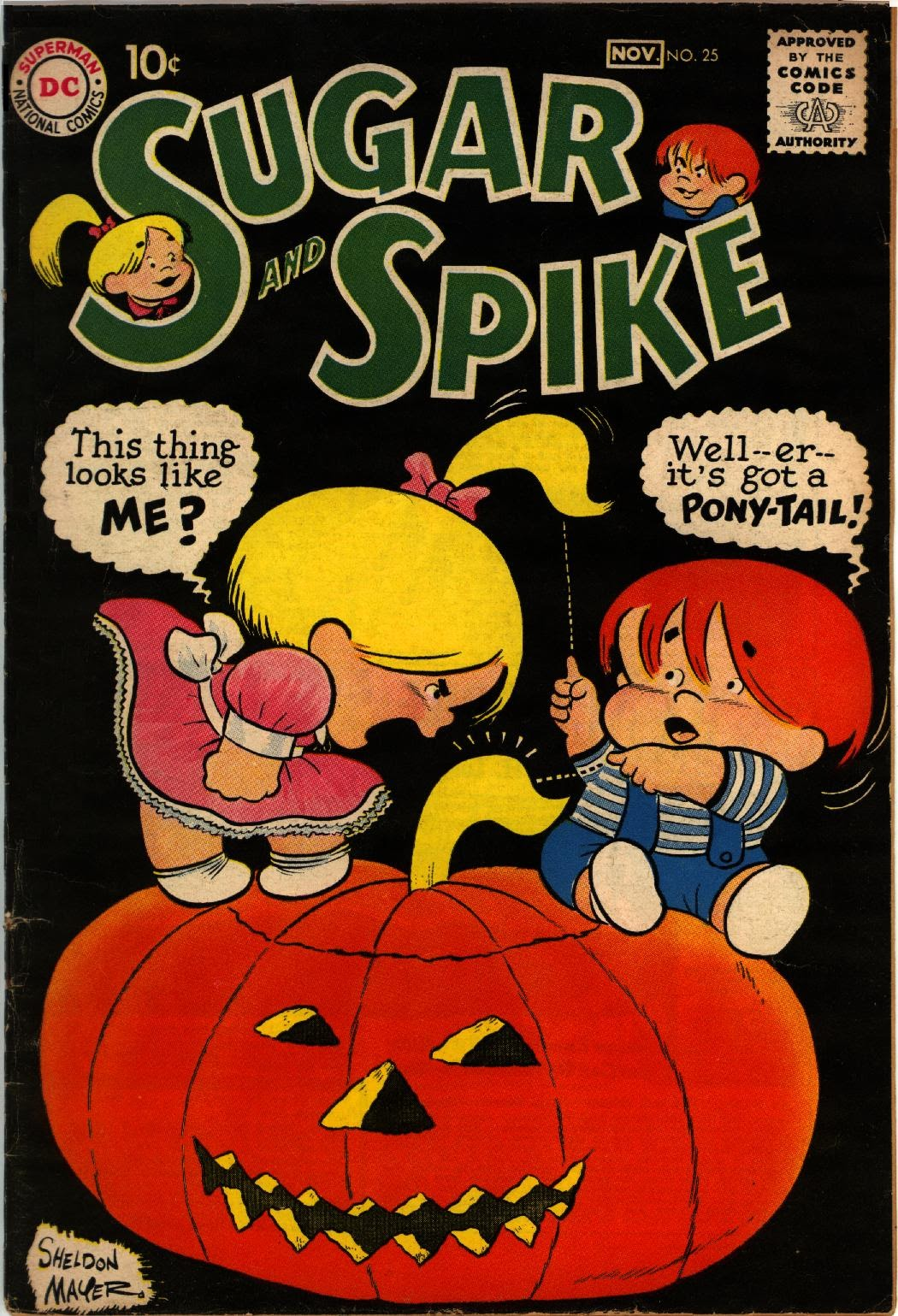 Sugar and Spike 25 Page 1