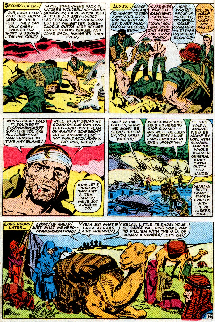 Read online Sgt. Fury comic -  Issue # _Special 5 - 20